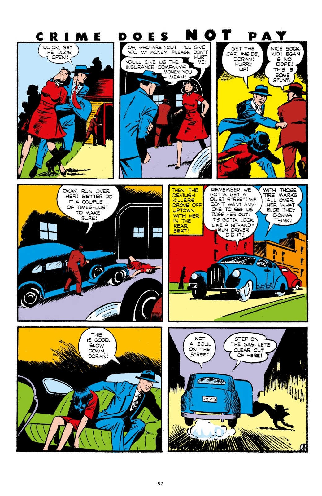 Read online Crime Does Not Pay Archives comic -  Issue # TPB 7 (Part 1) - 59
