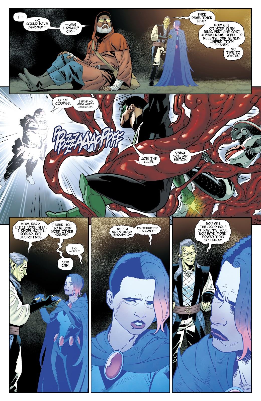 Read online Titans (2016) comic -  Issue #35 - 13