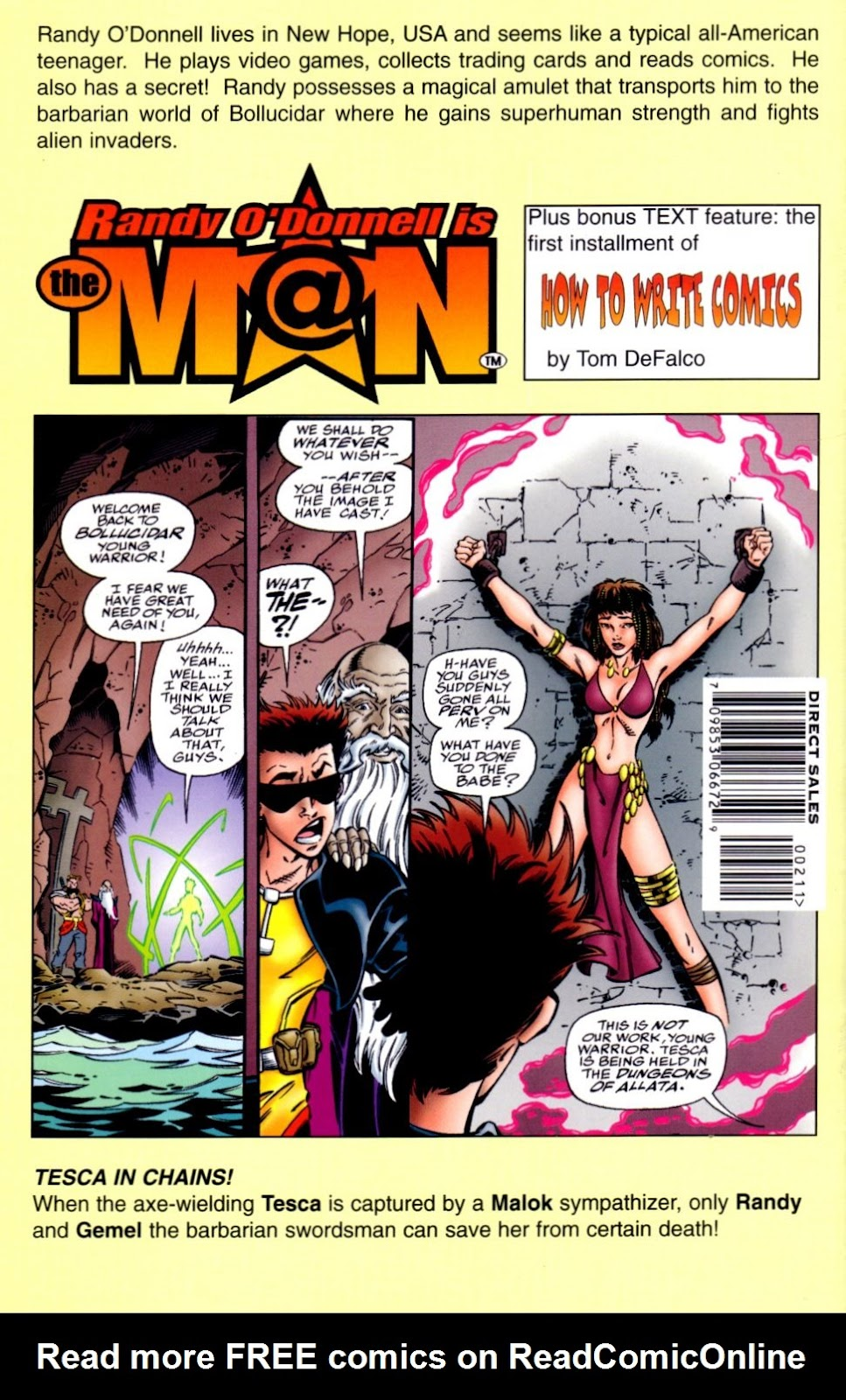 Read online Randy O'Donnell is The M@N comic -  Issue #2 - 31