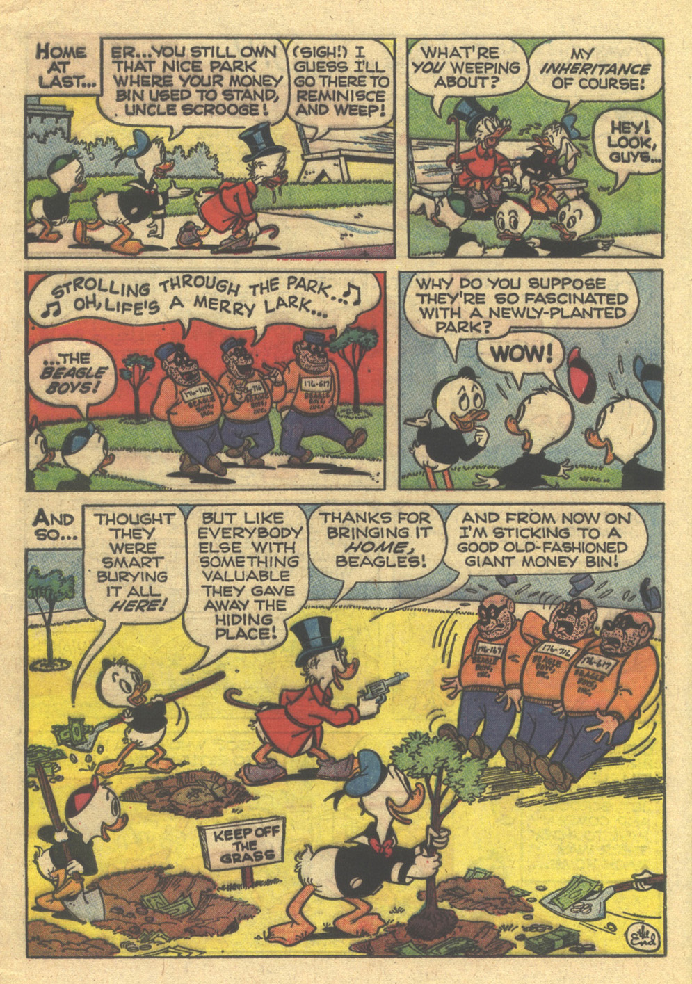 Read online Uncle Scrooge (1953) comic -  Issue #76 - 16