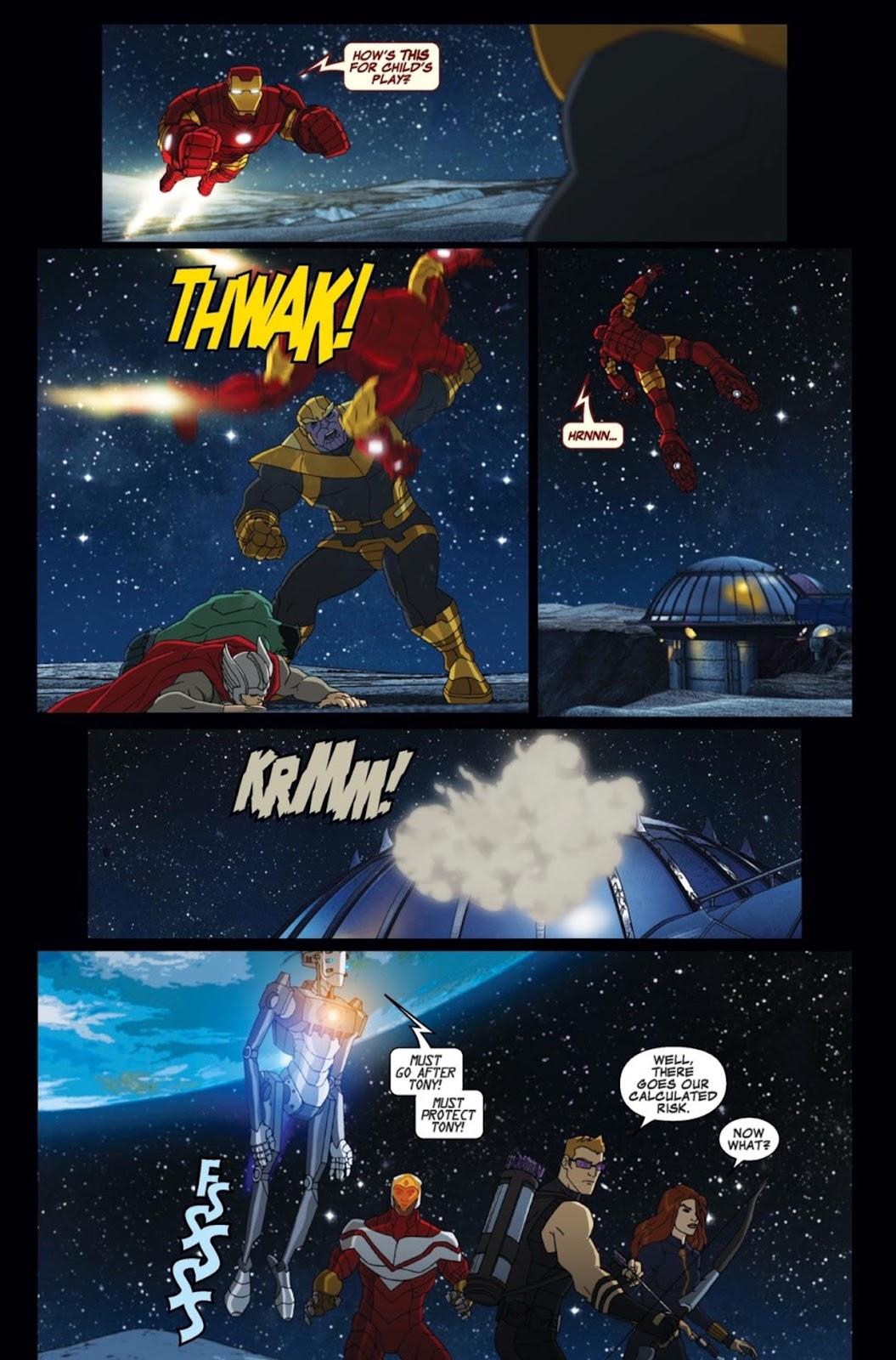 Read online Marvel Universe Avengers Assemble Season 2 comic -  Issue #2 - 10