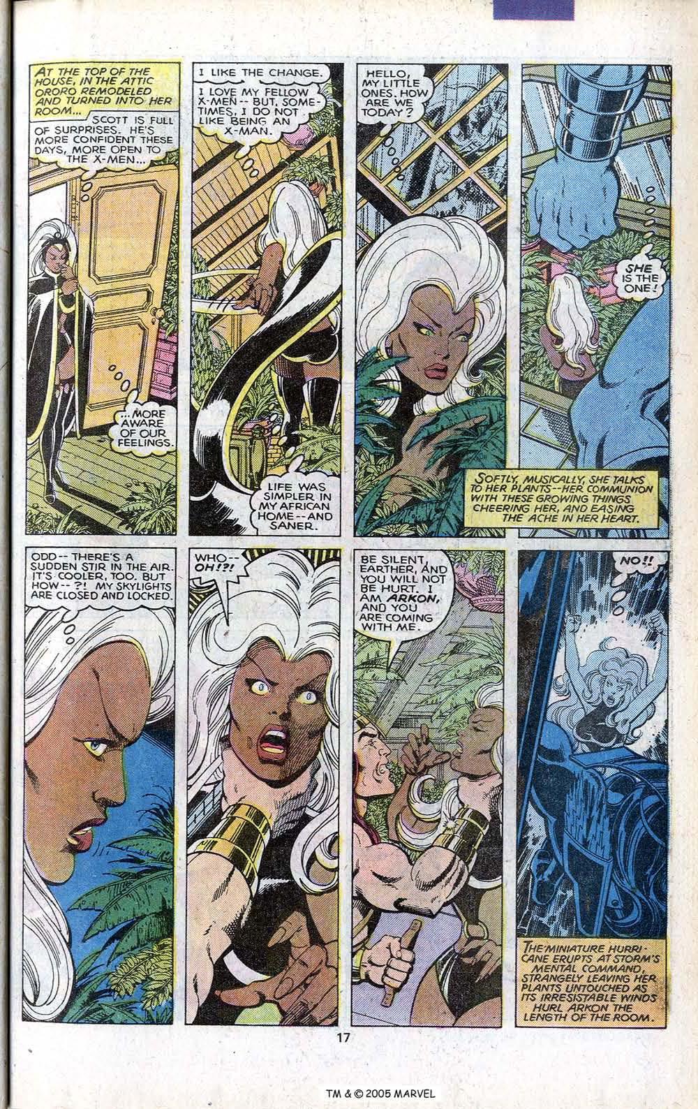 Read online Uncanny X-Men (1963) comic -  Issue # _Annual 3 - 19