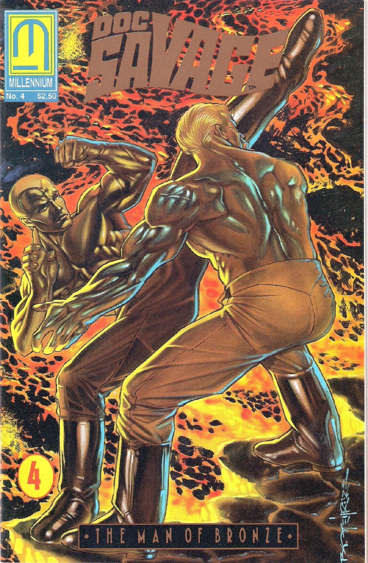 Doc Savage: The Man of Bronze 4 Page 1