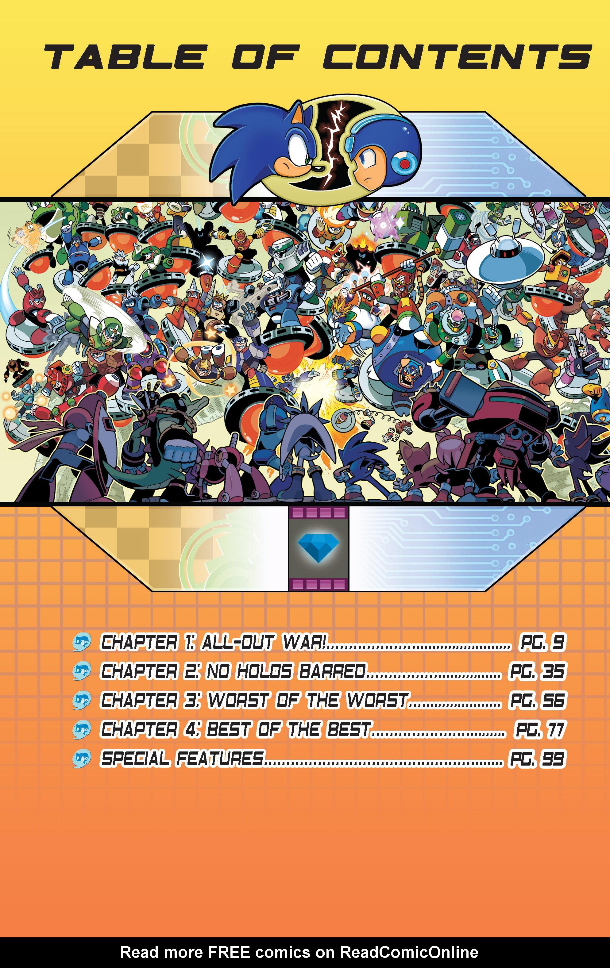 Read online Sonic Mega Man Worlds Collide comic -  Issue # Vol 3 - 3