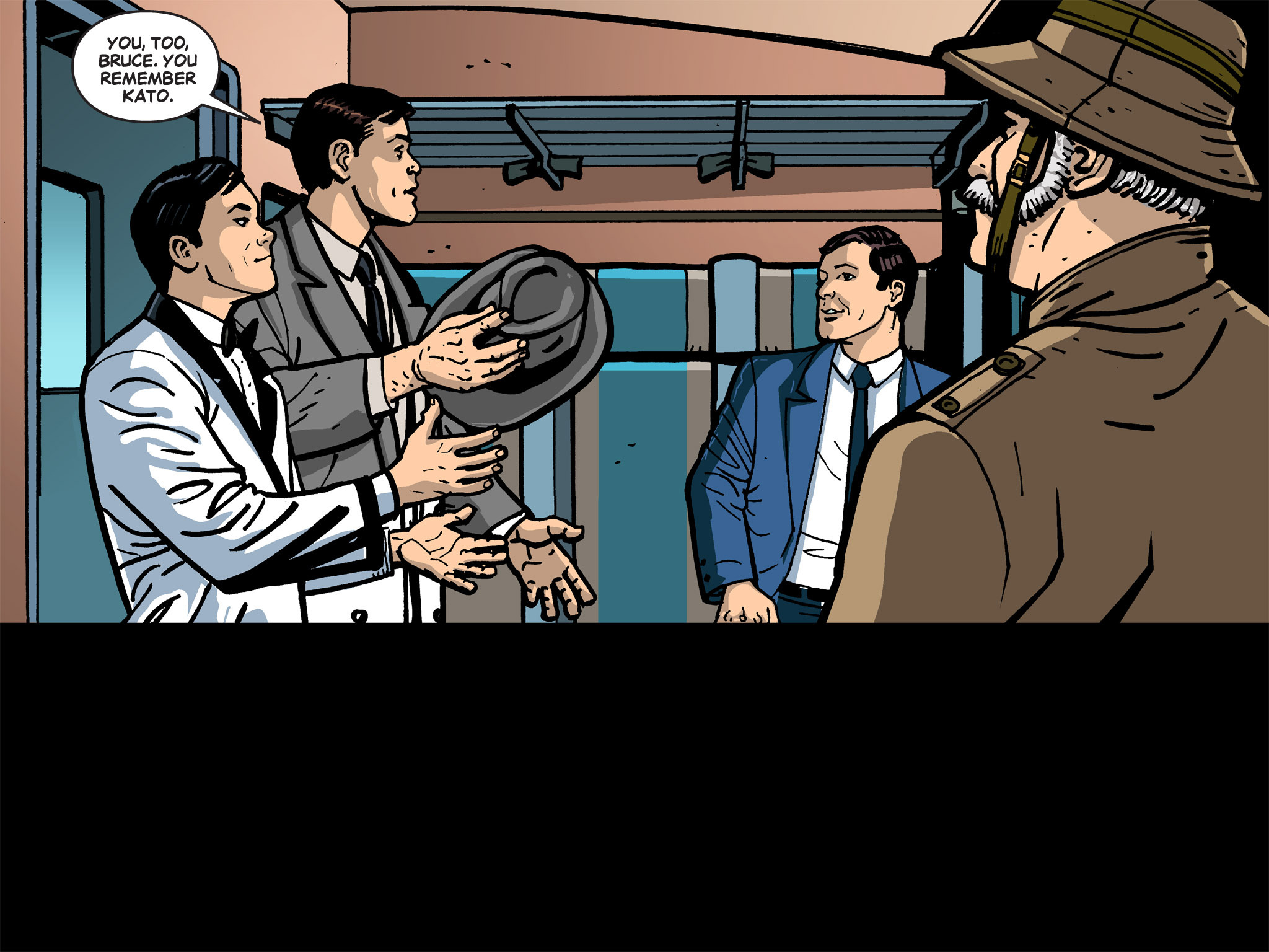 Read online Batman '66 Meets the Green Hornet [II] comic -  Issue #1 - 41