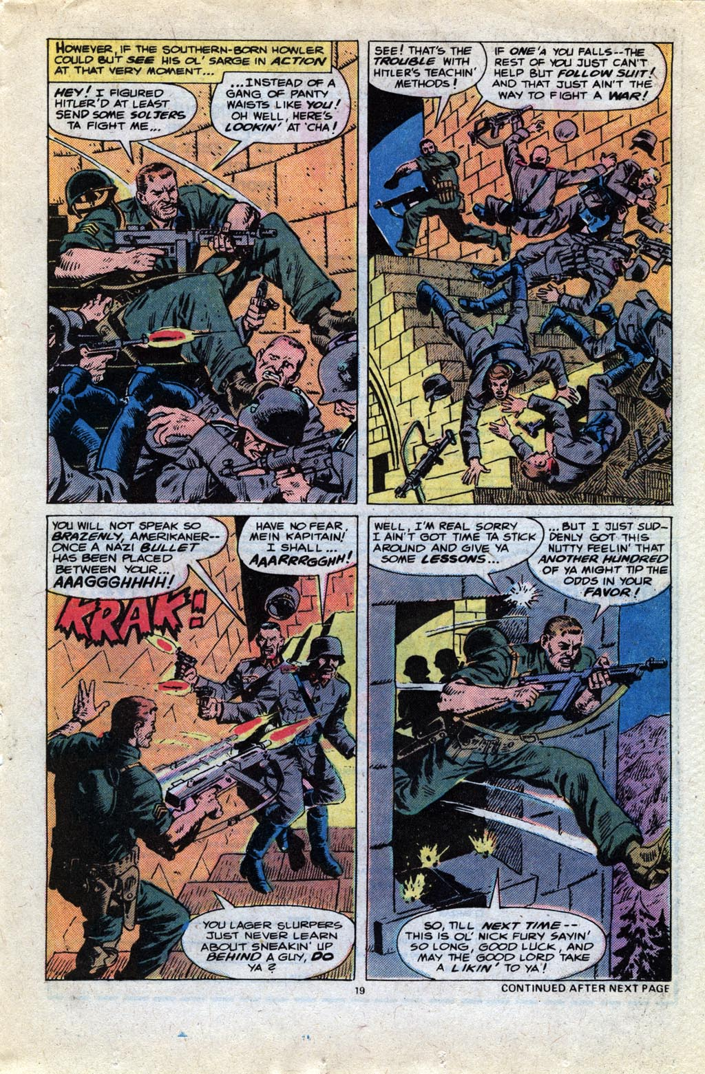 Read online Sgt. Fury comic -  Issue #148 - 21