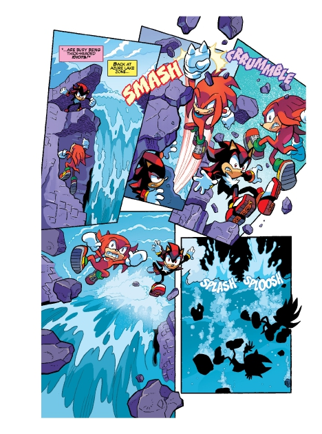 Read online Sonic Comics Spectacular: Speed of Sound comic -  Issue # Full - 231
