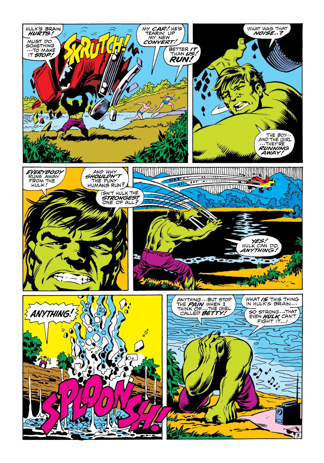 Read online Marvel Masterworks: The Incredible Hulk comic -  Issue # TPB 6 (Part 1) - 75
