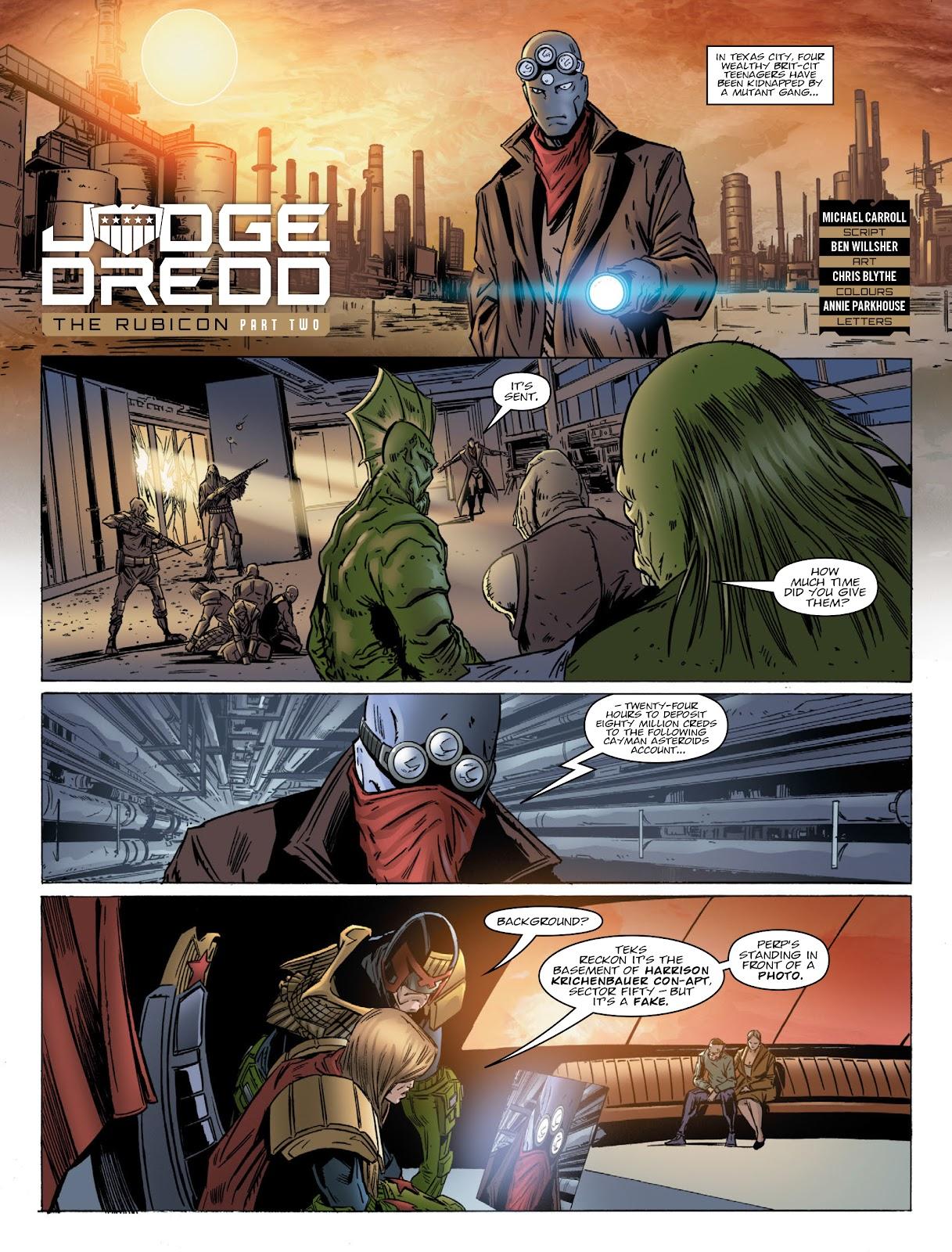 Judge Dredd Megazine (Vol. 5) Issue #381 #180 - English 5