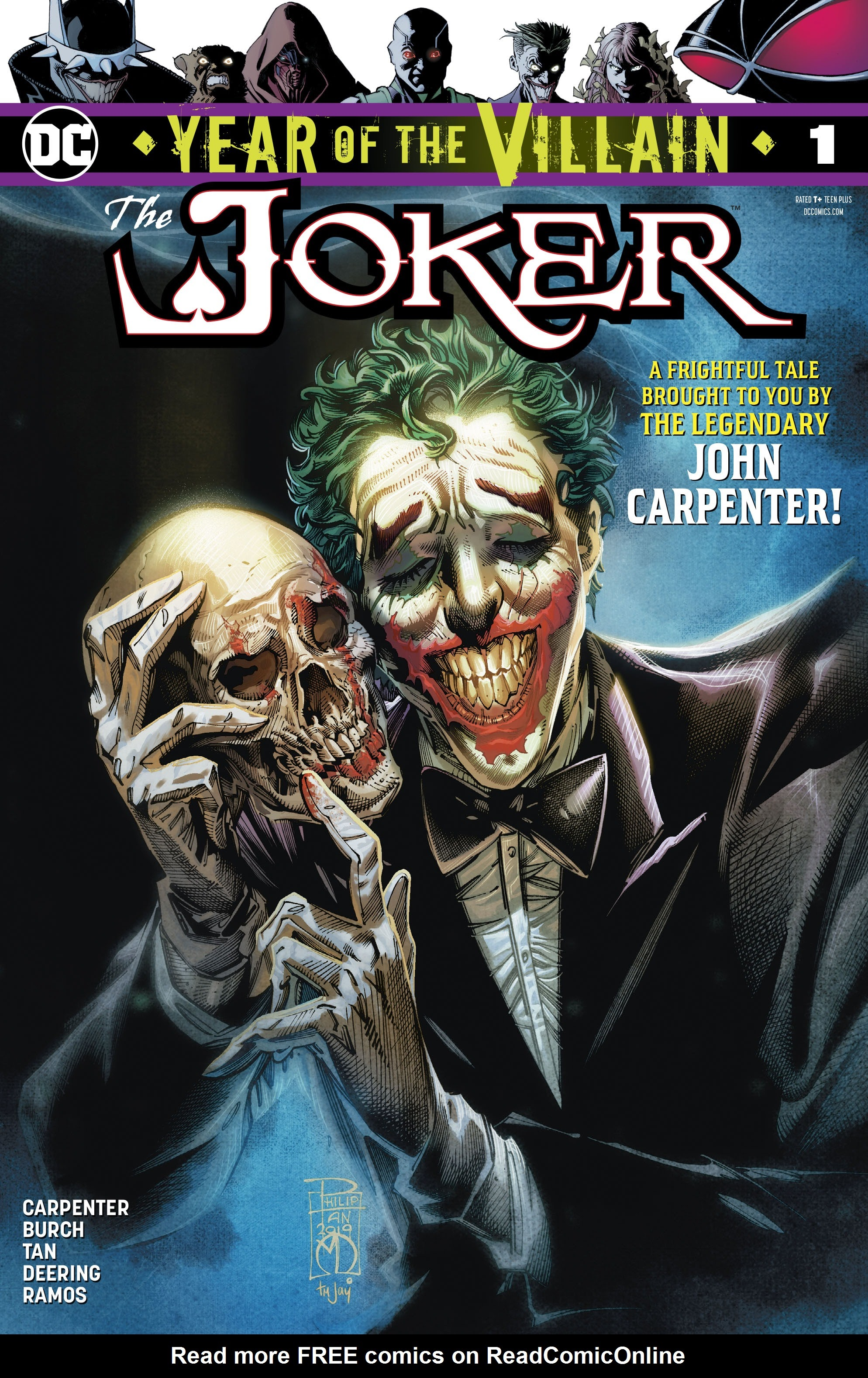 Joker: Year of the Villain Full Page 1