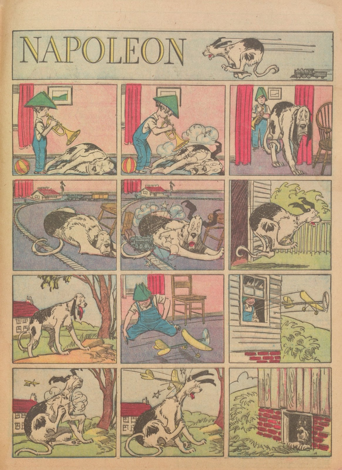 Read online Famous Funnies comic -  Issue #56 - 65