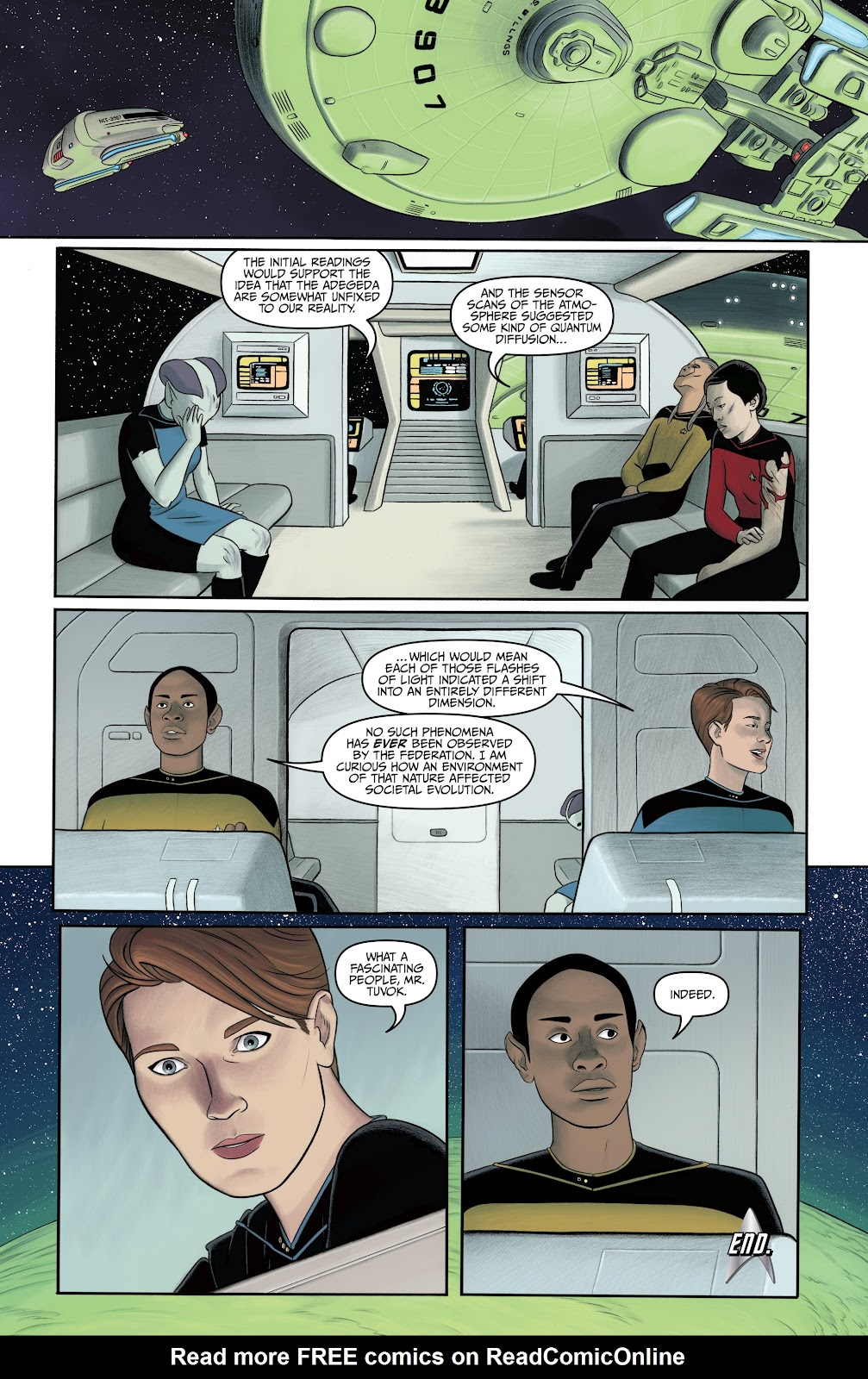 Read online Star Trek: Waypoint Special 2019 comic -  Issue # Full - 32