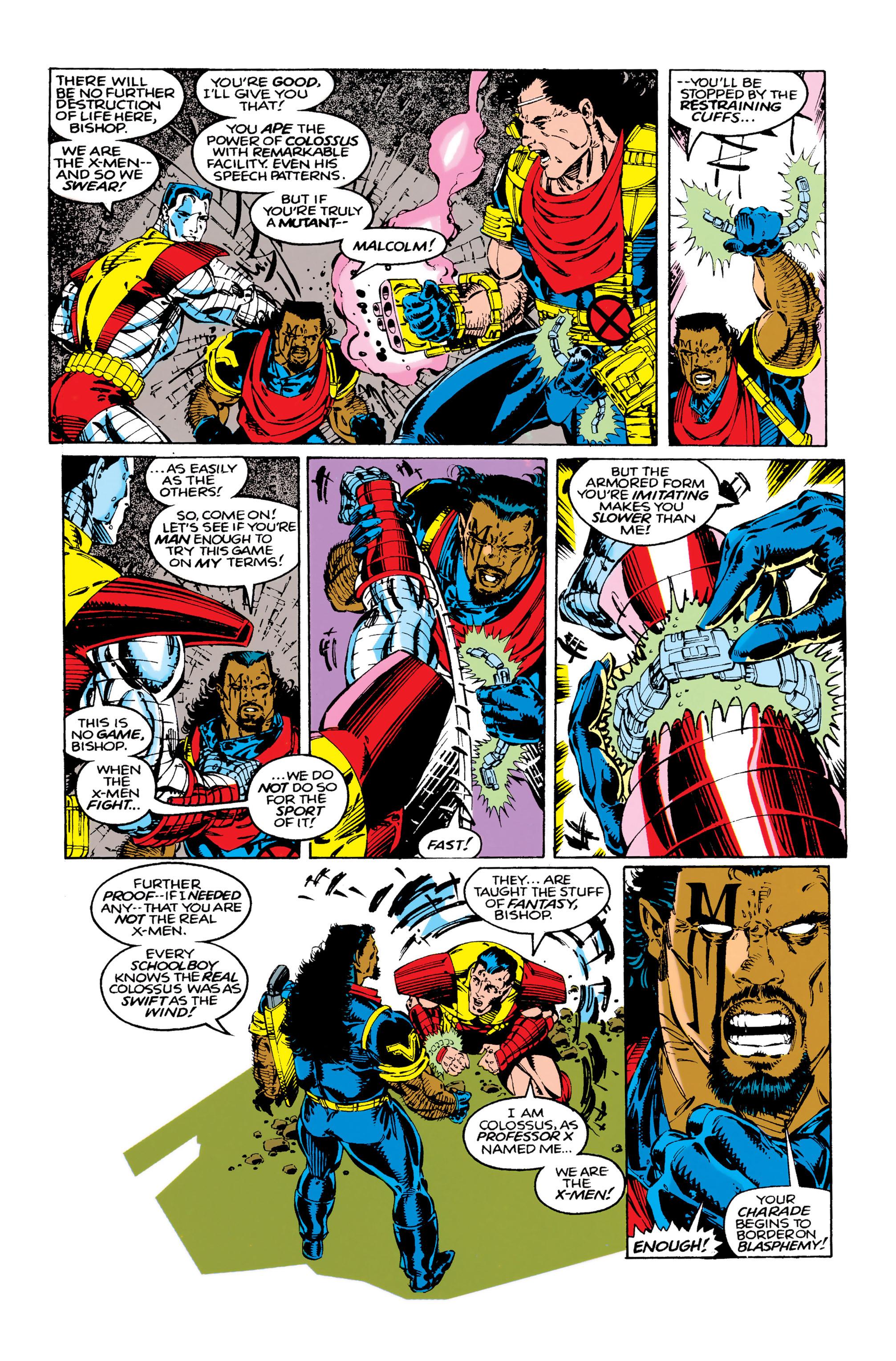 Read online Uncanny X-Men (1963) comic -  Issue #283 - 10
