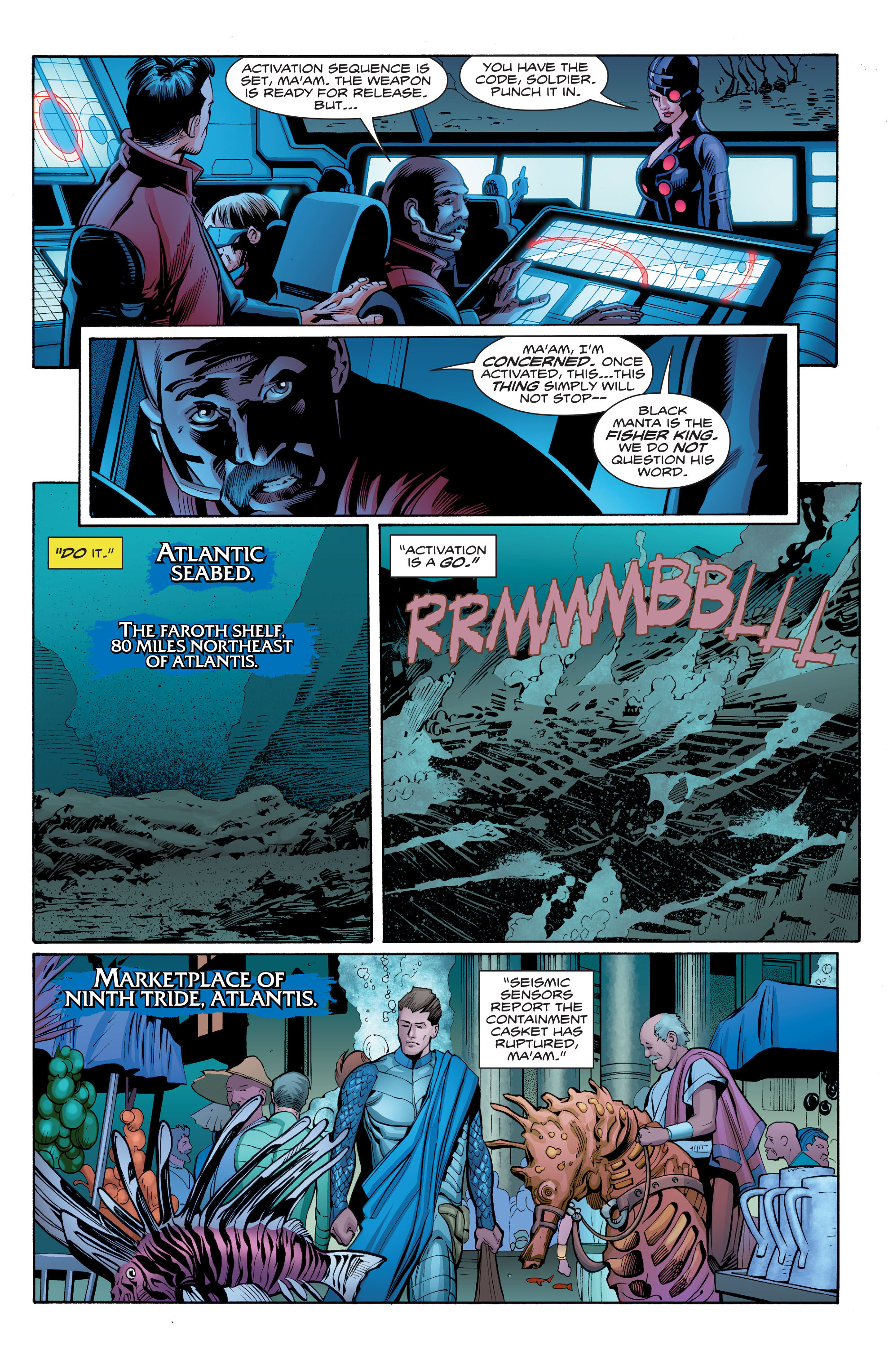 Read online Aquaman (2016) comic -  Issue #7 - 21