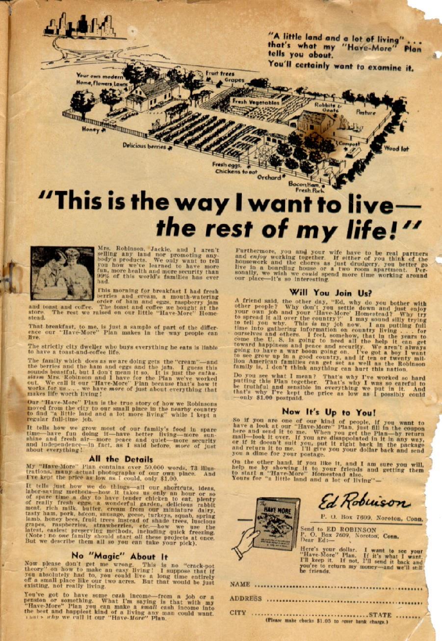 Read online Super-Magician Comics comic -  Issue #43 - 51