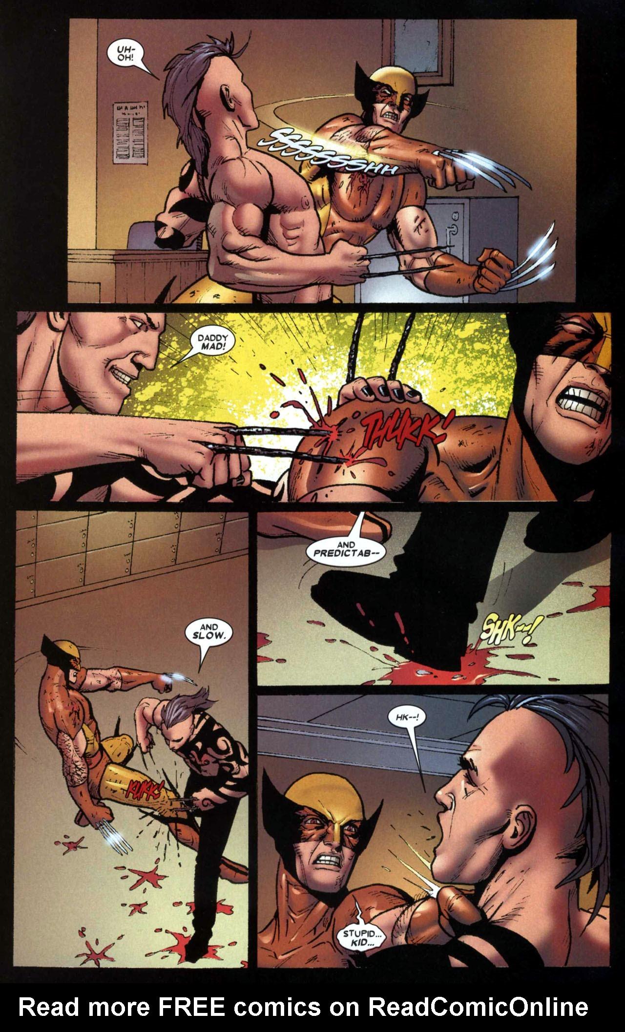 Read online Wolverine: Origins comic -  Issue #13 - 16