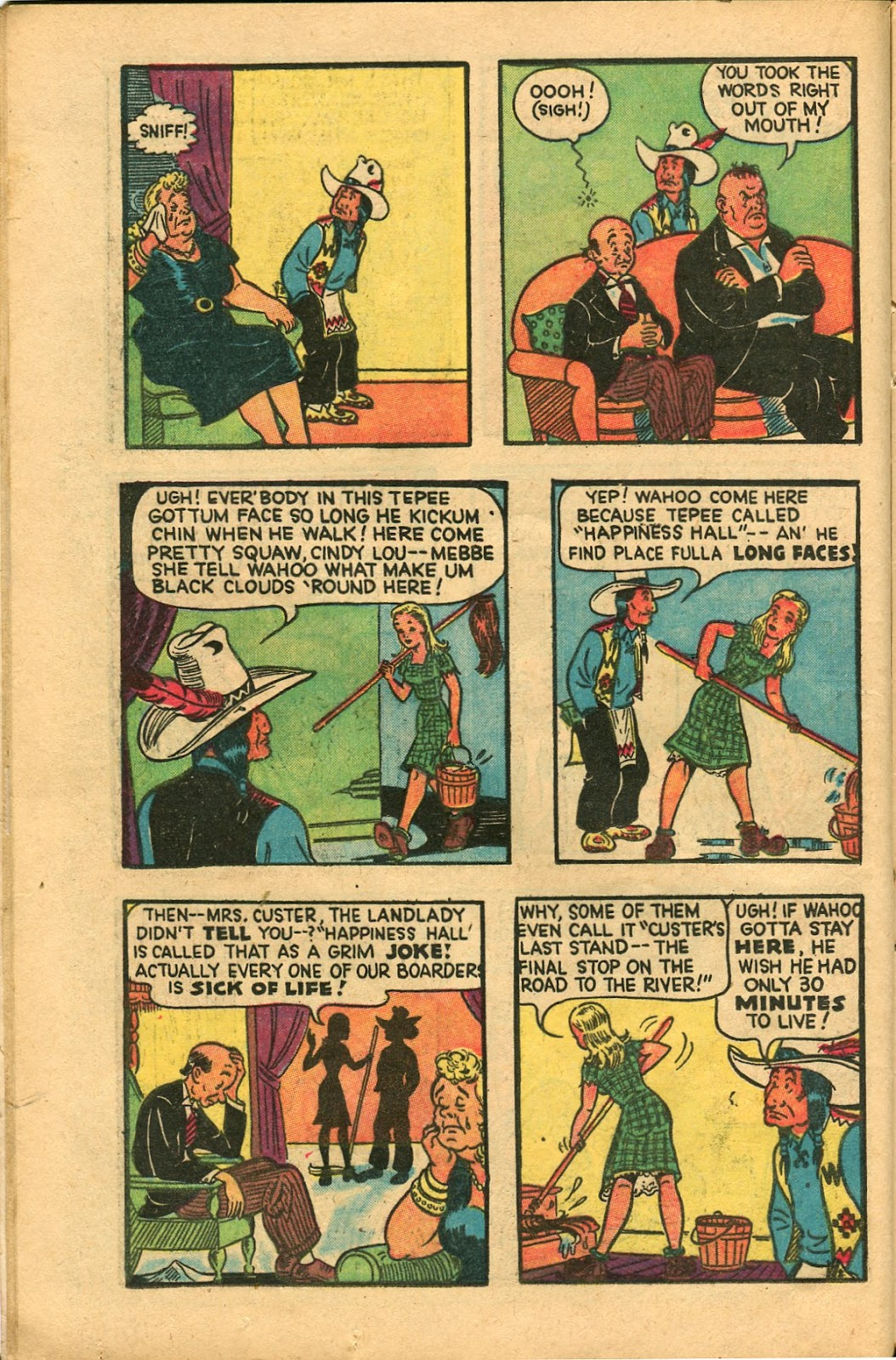Read online Famous Funnies comic -  Issue #147 - 18
