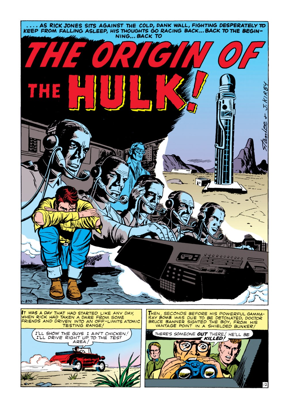 Read online Marvel Masterworks: The Incredible Hulk comic -  Issue # TPB 1 (Part 1) - 65