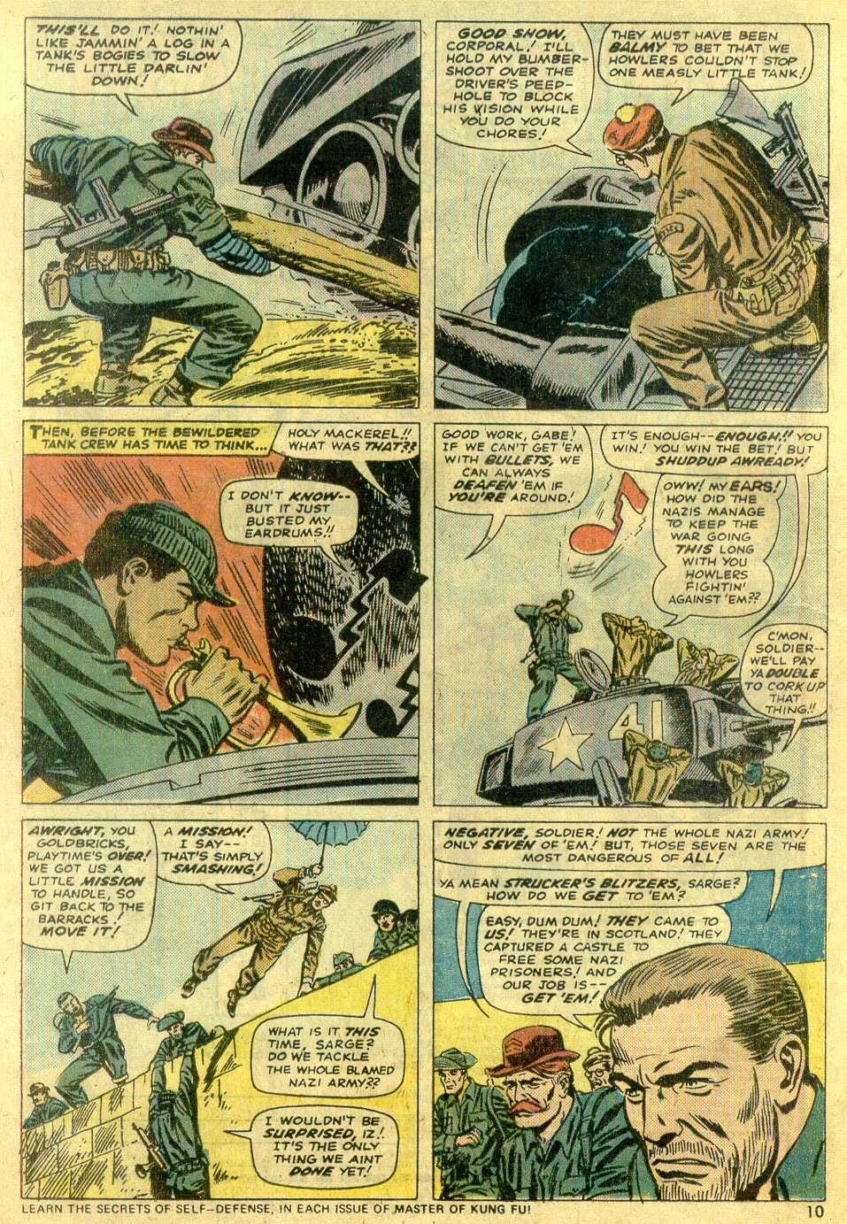 Read online Sgt. Fury comic -  Issue #122 - 12