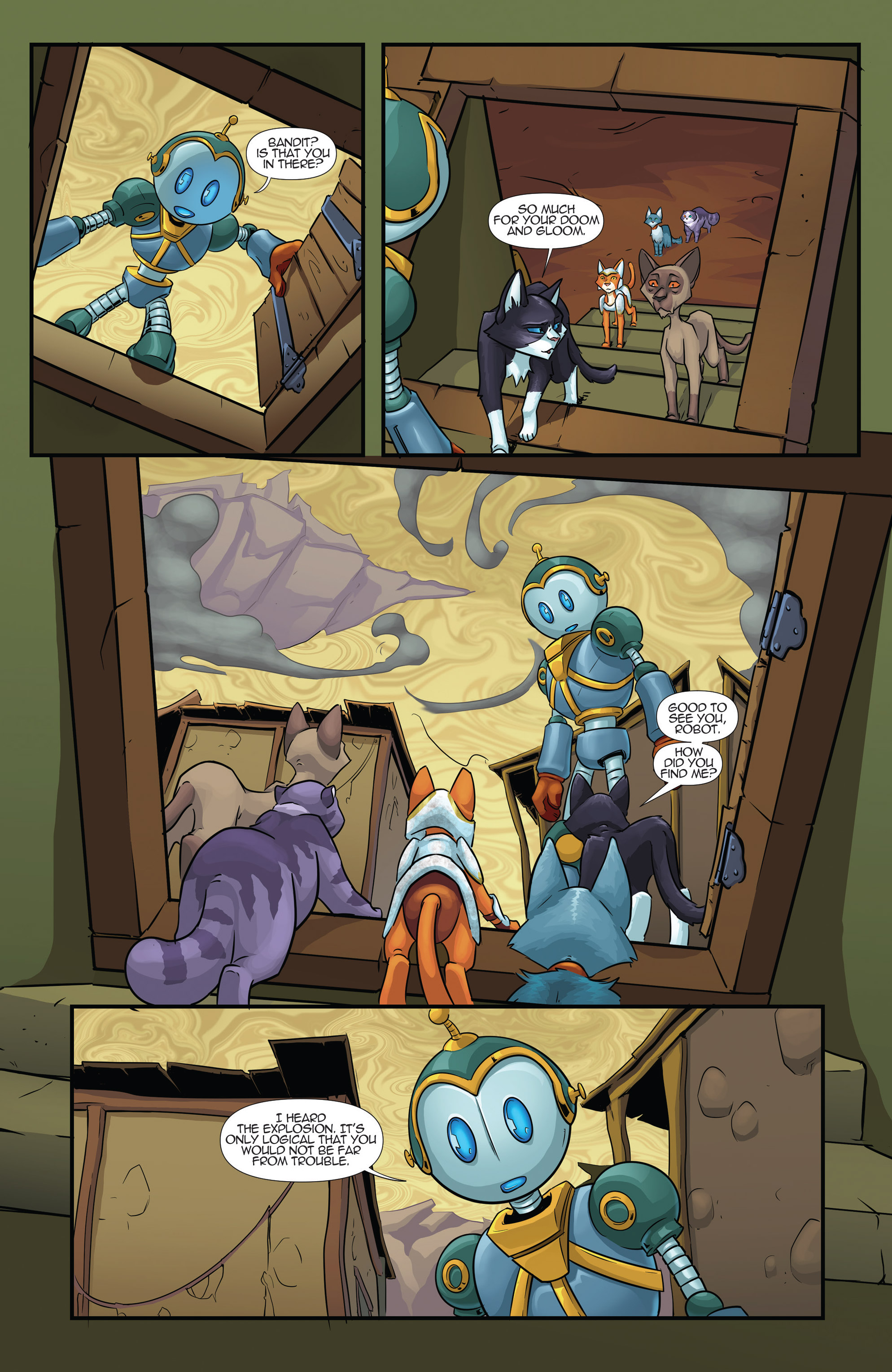 Read online Hero Cats comic -  Issue #17 - 15