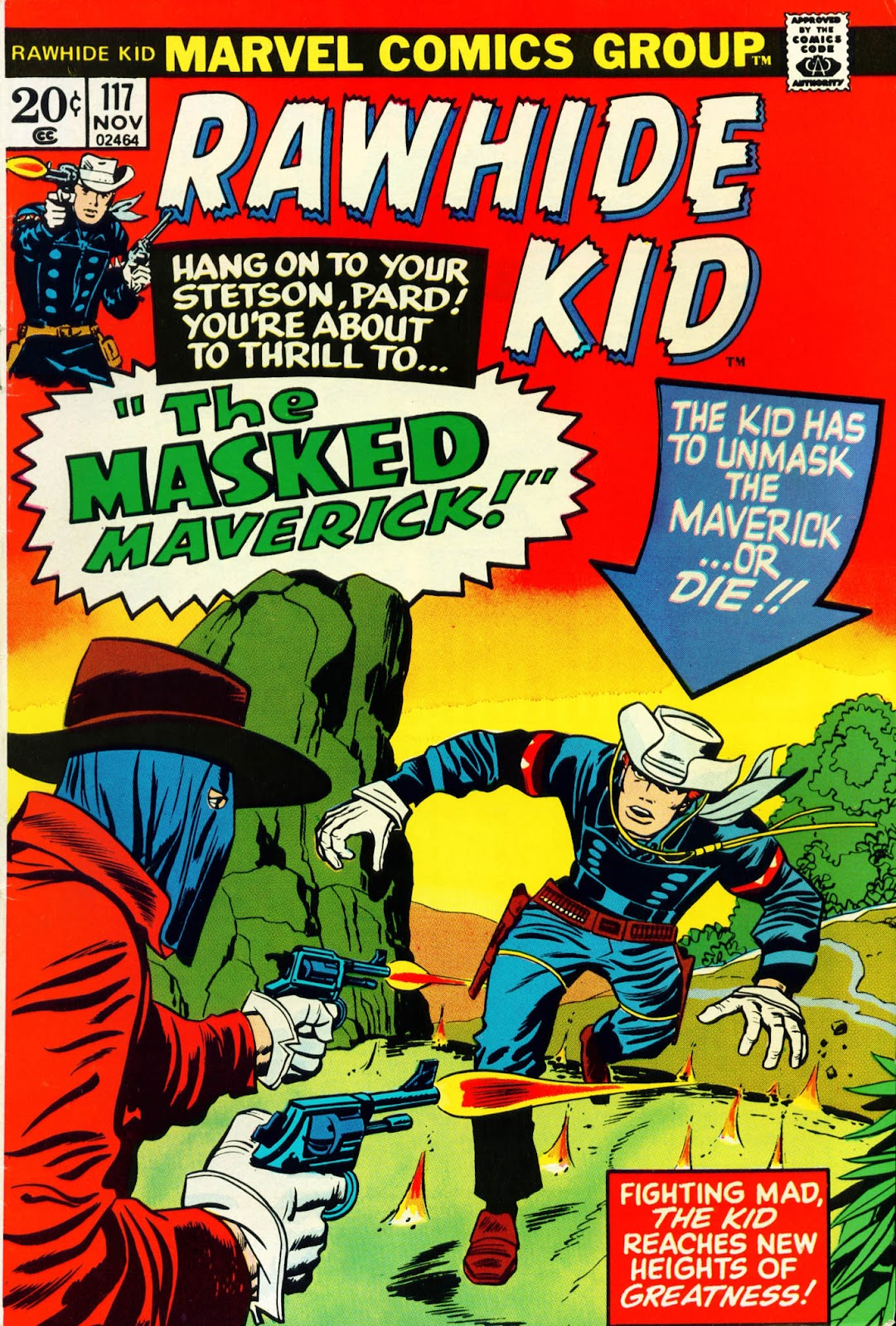 The Rawhide Kid (1955) issue 117 - Page 1