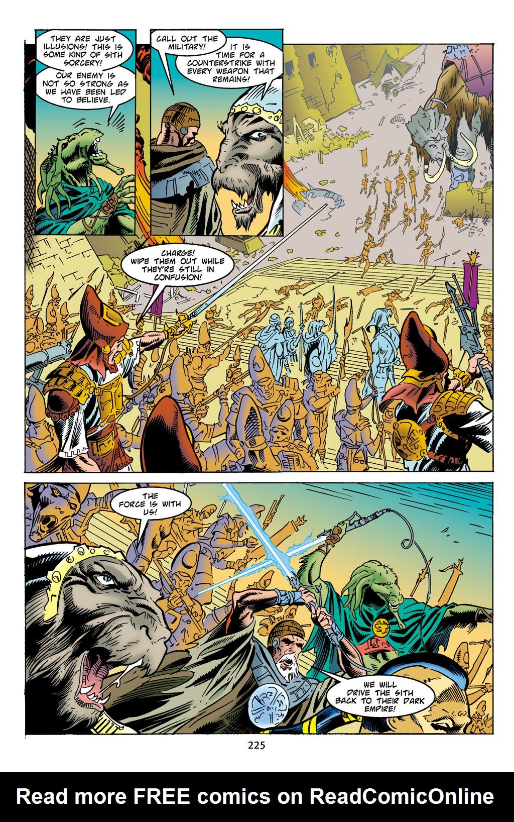 Read online Star Wars Omnibus comic -  Issue # Vol. 4 - 216