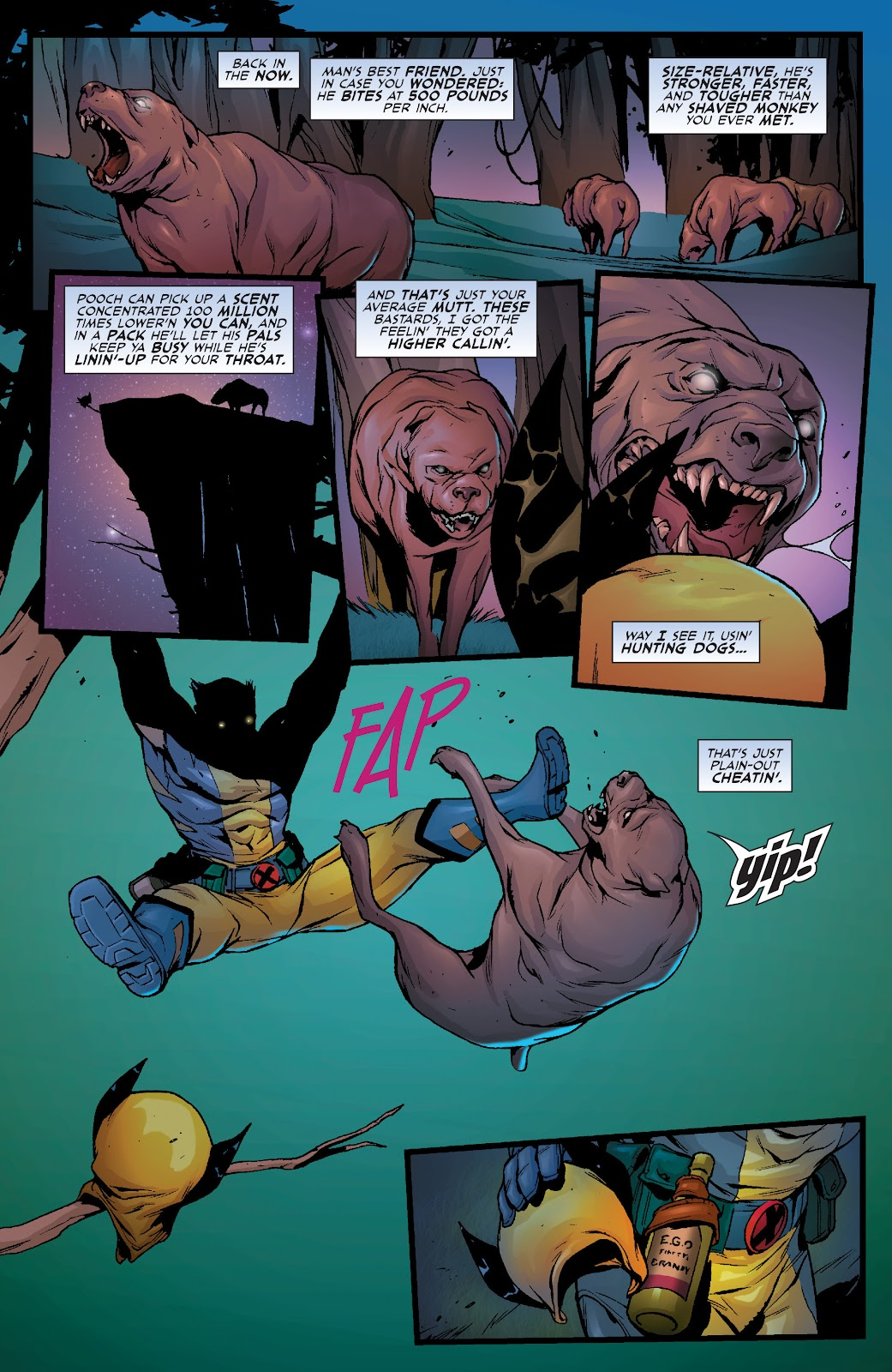 Wolverine: Dangerous Games issue Full - Page 5