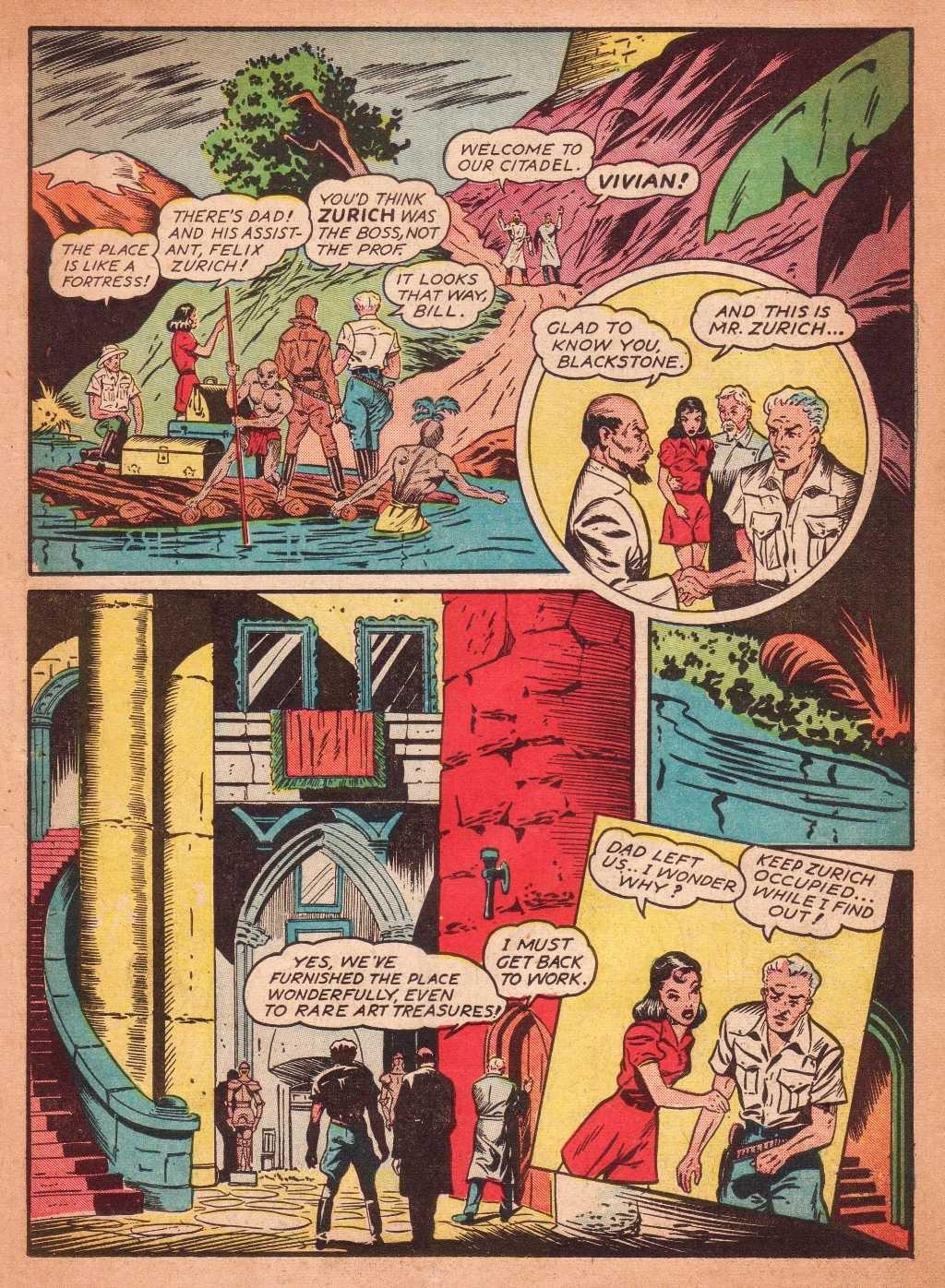 Read online Super-Magician Comics comic -  Issue #2 - 20