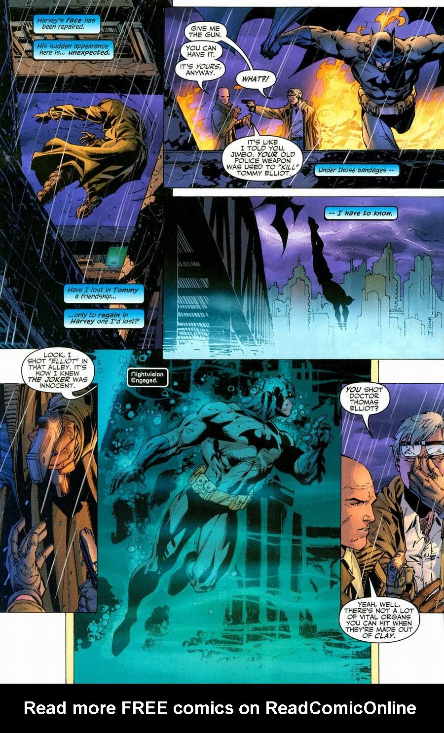 Read online Batman: Hush comic -  Issue #12 - 13