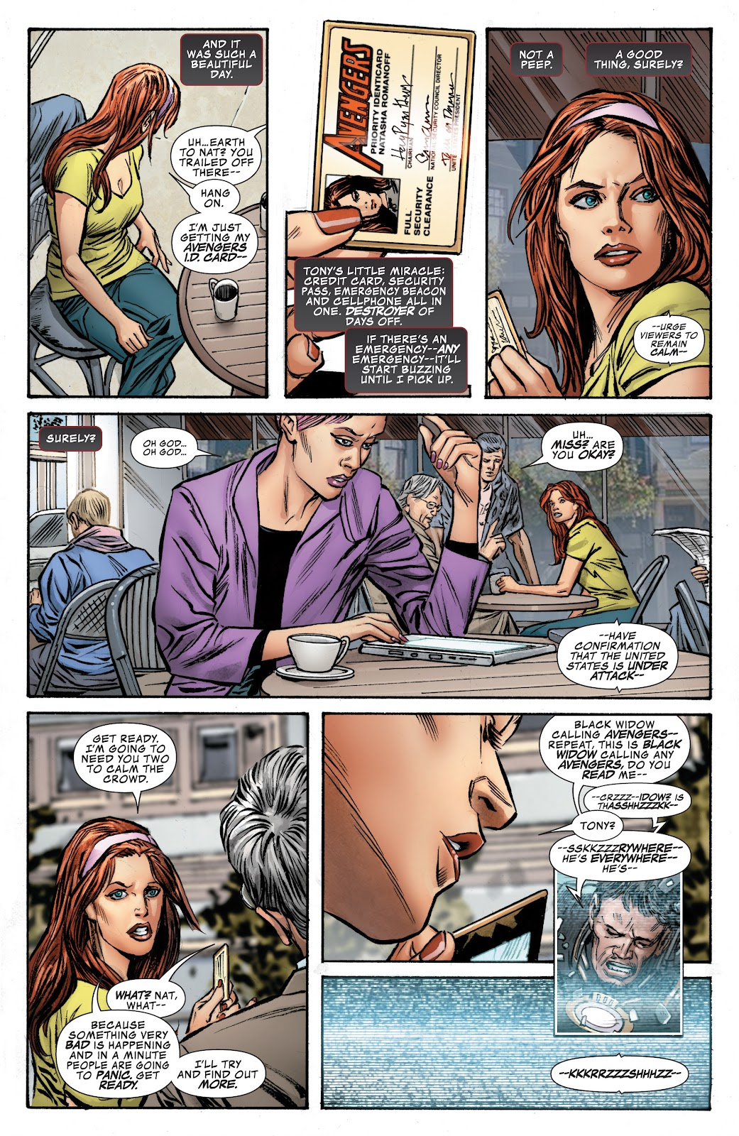 Read online Age of Ultron Companion comic -  Issue # TPB (Part 1) - 8