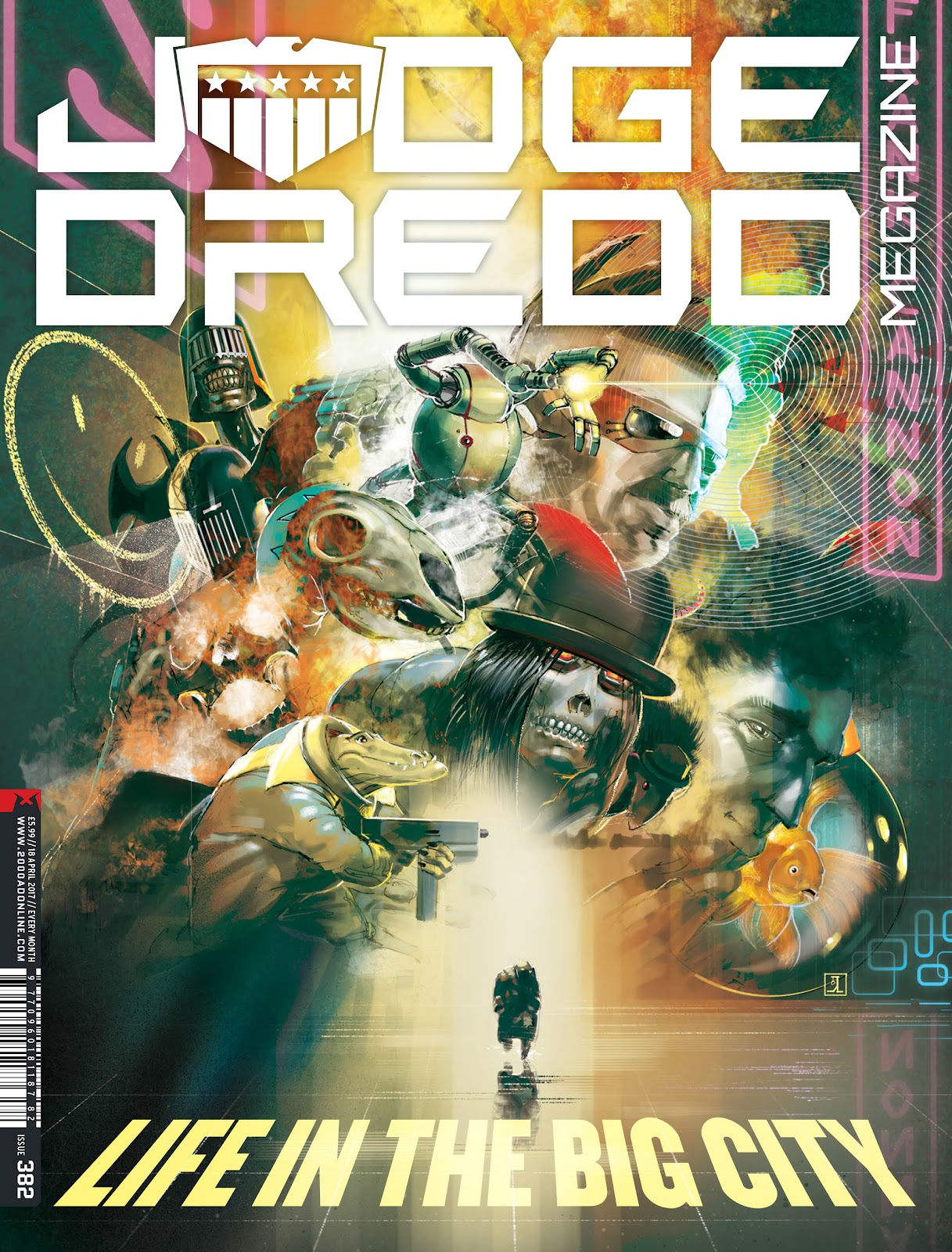 Judge Dredd Megazine (Vol. 5) Issue #382 #181 - English 1