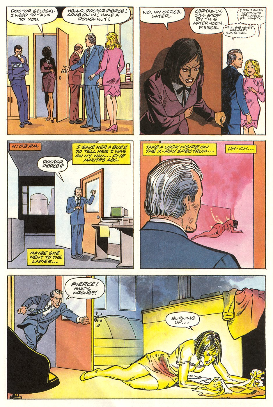 Read online Solar, Man of the Atom comic -  Issue #9 - 6