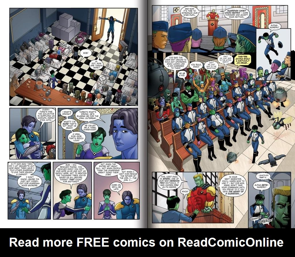 Read online ReBoot: Paradigms Lost comic -  Issue # Full - 5