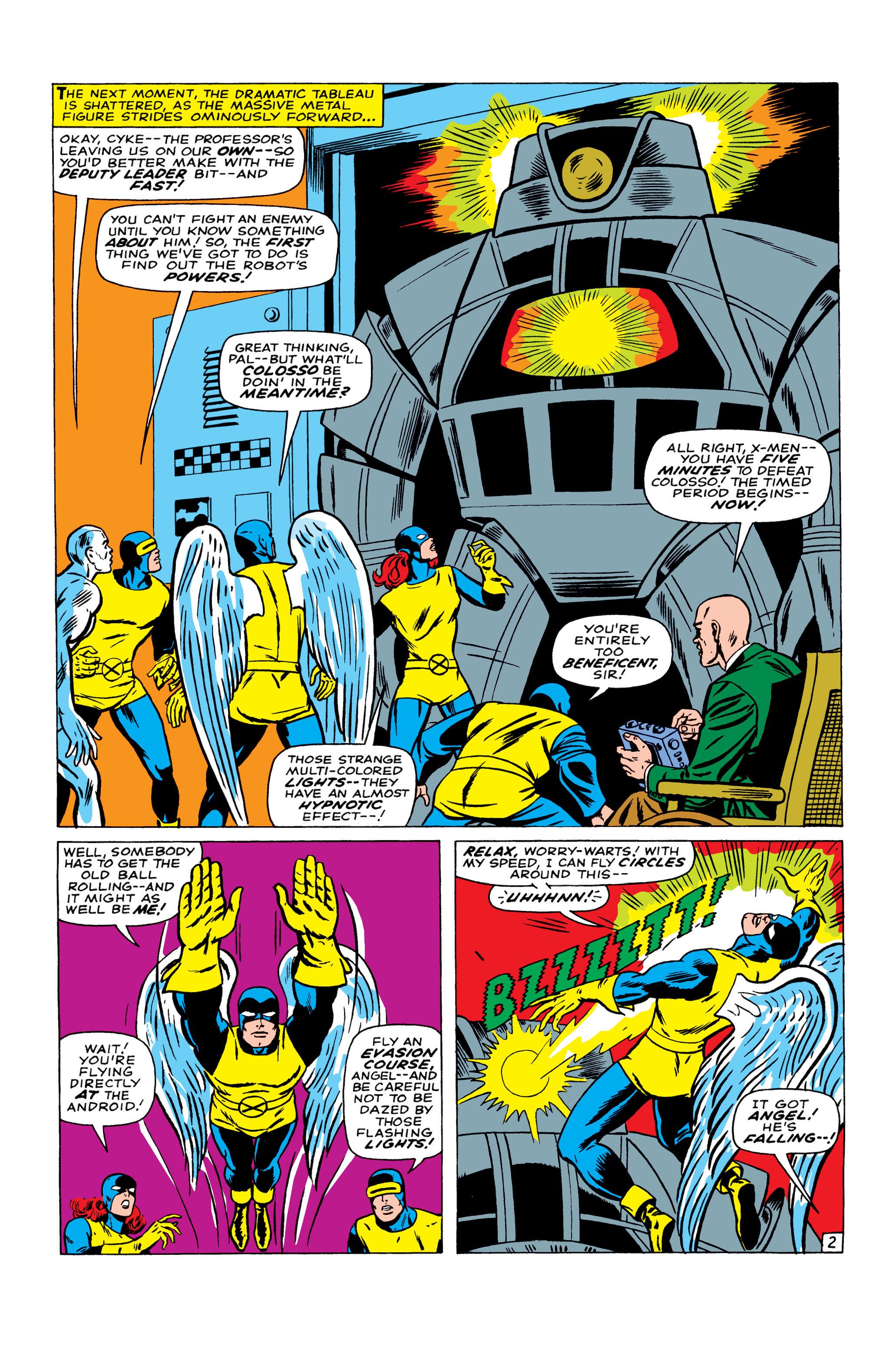 Read online Uncanny X-Men (1963) comic -  Issue #22 - 3