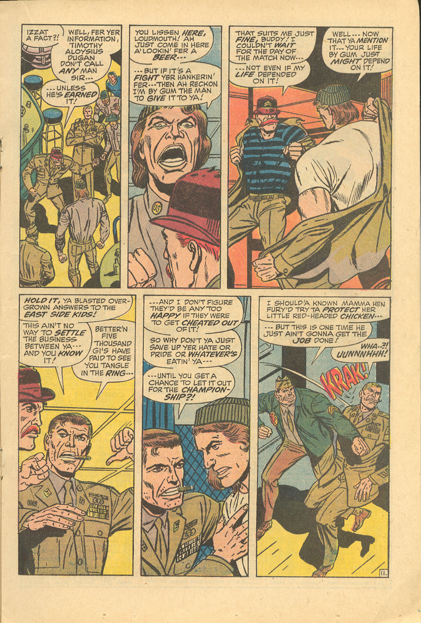 Read online Sgt. Fury comic -  Issue #83 - 17