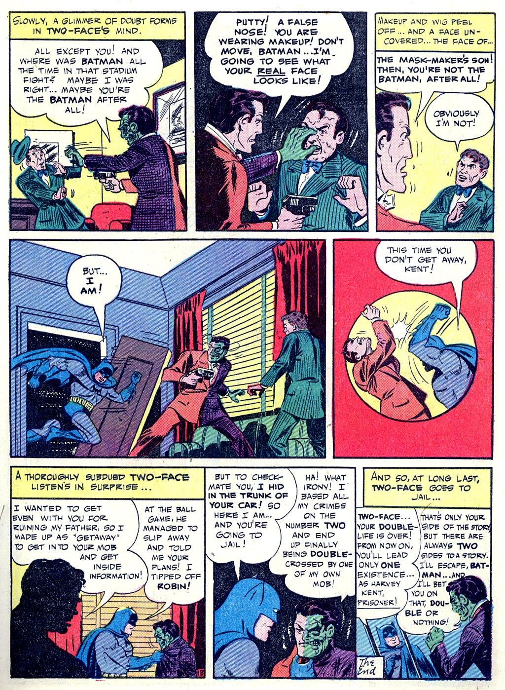 Read online Detective Comics (1937) comic -  Issue #68 - 15