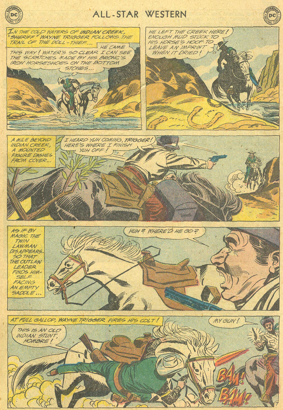 Read online All-Star Western (1951) comic -  Issue #114 - 31