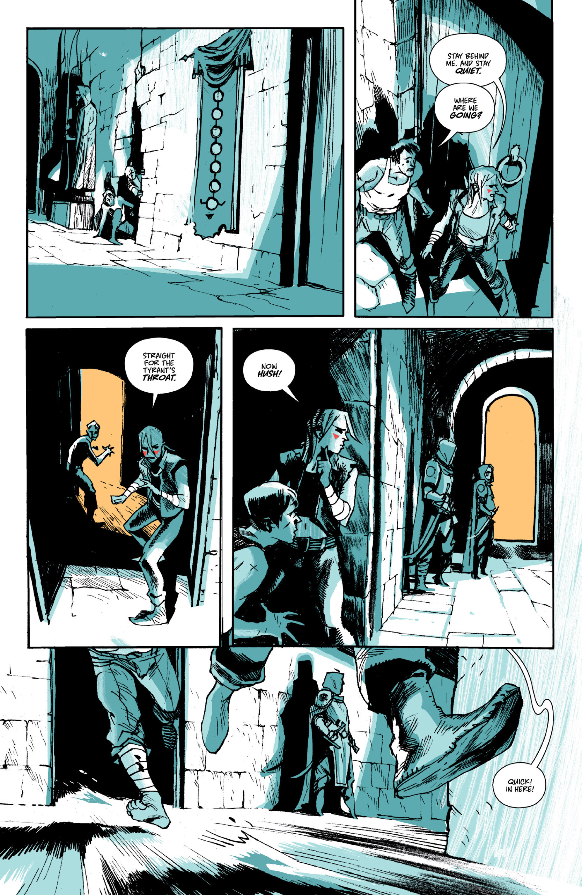 Read online Ei8ht comic -  Issue # TPB - 70