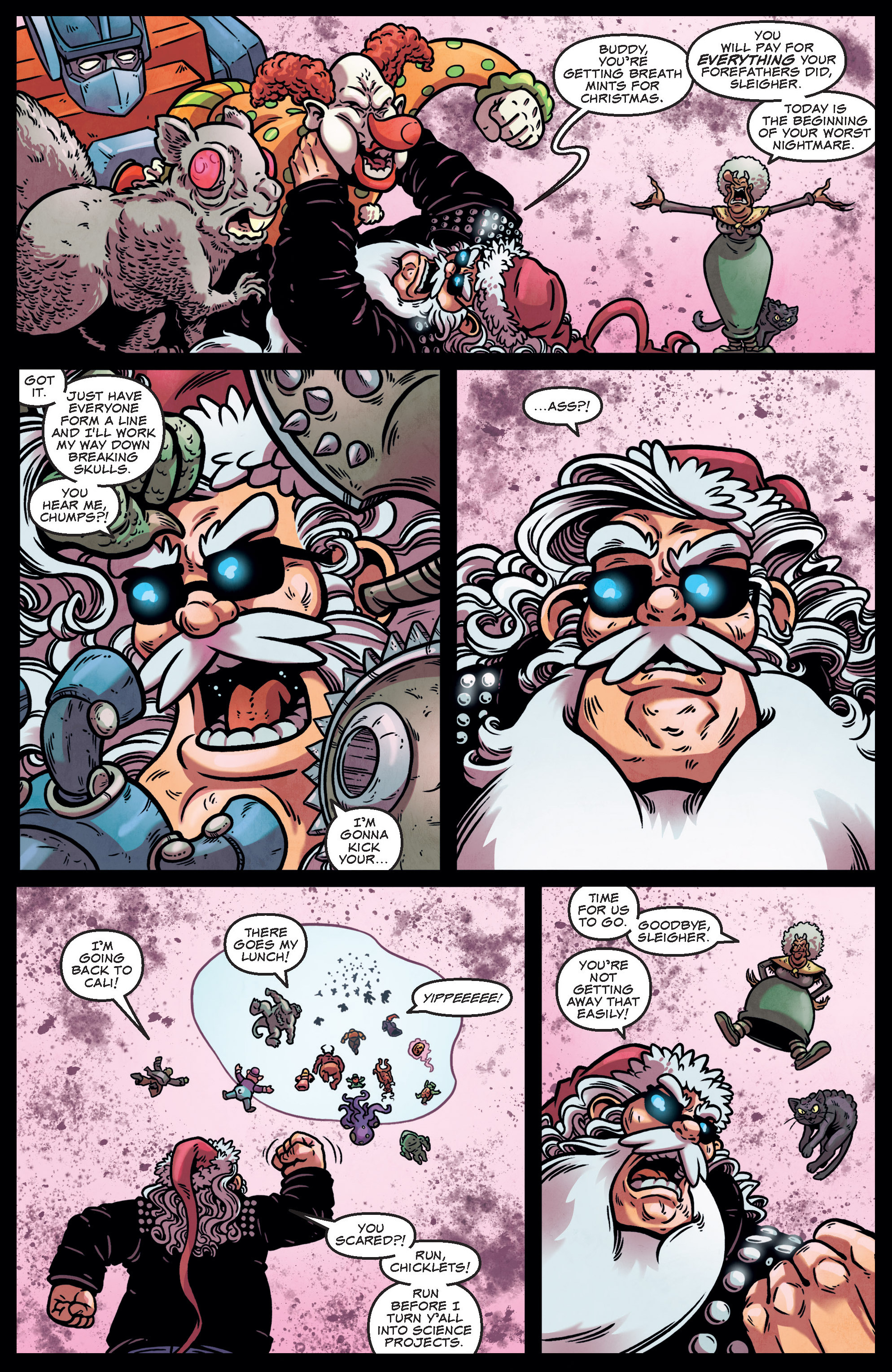 Read online Sleigher comic -  Issue #3 - 6