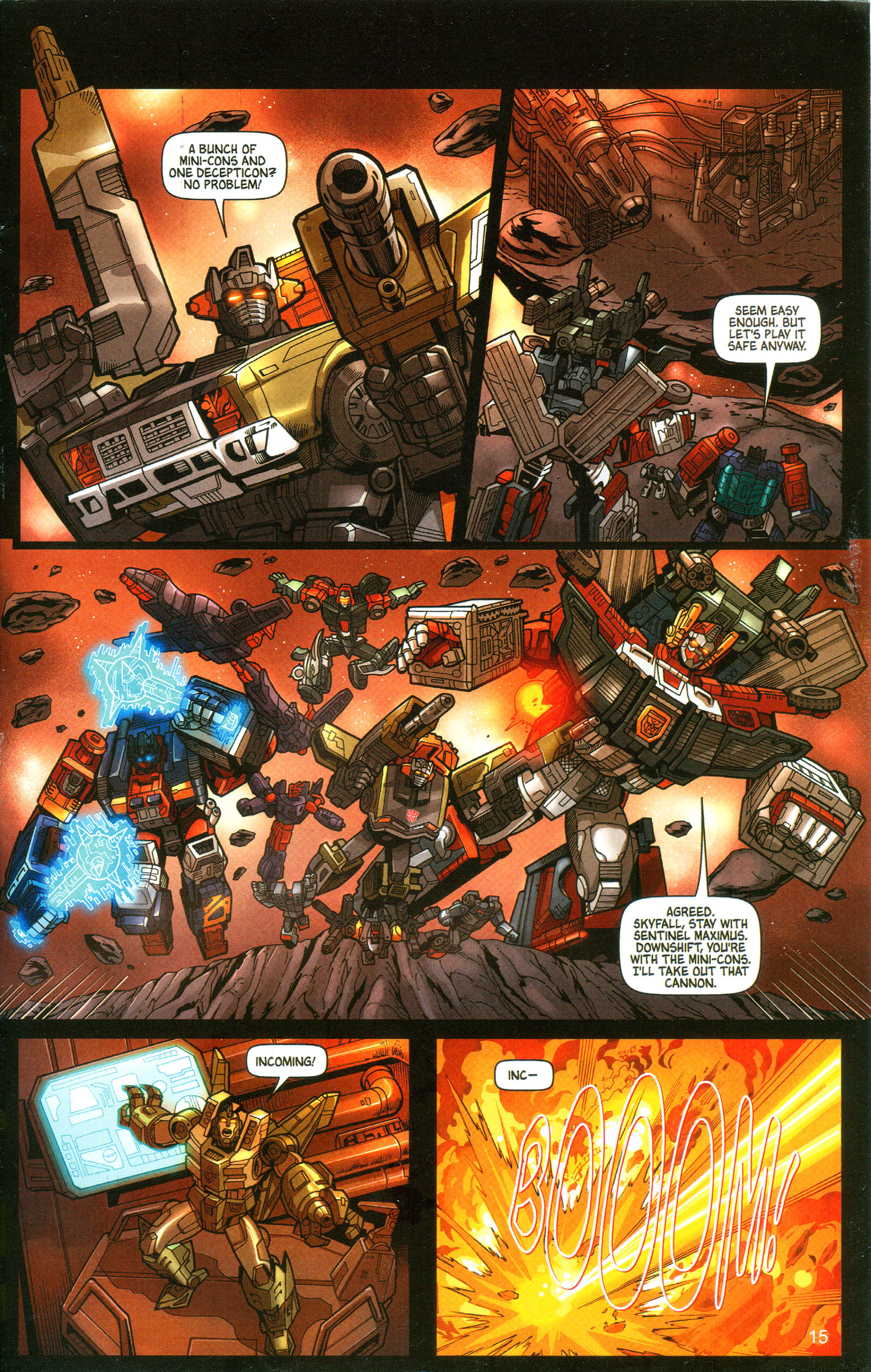 Read online Transformers: Collectors' Club comic -  Issue #10 - 15