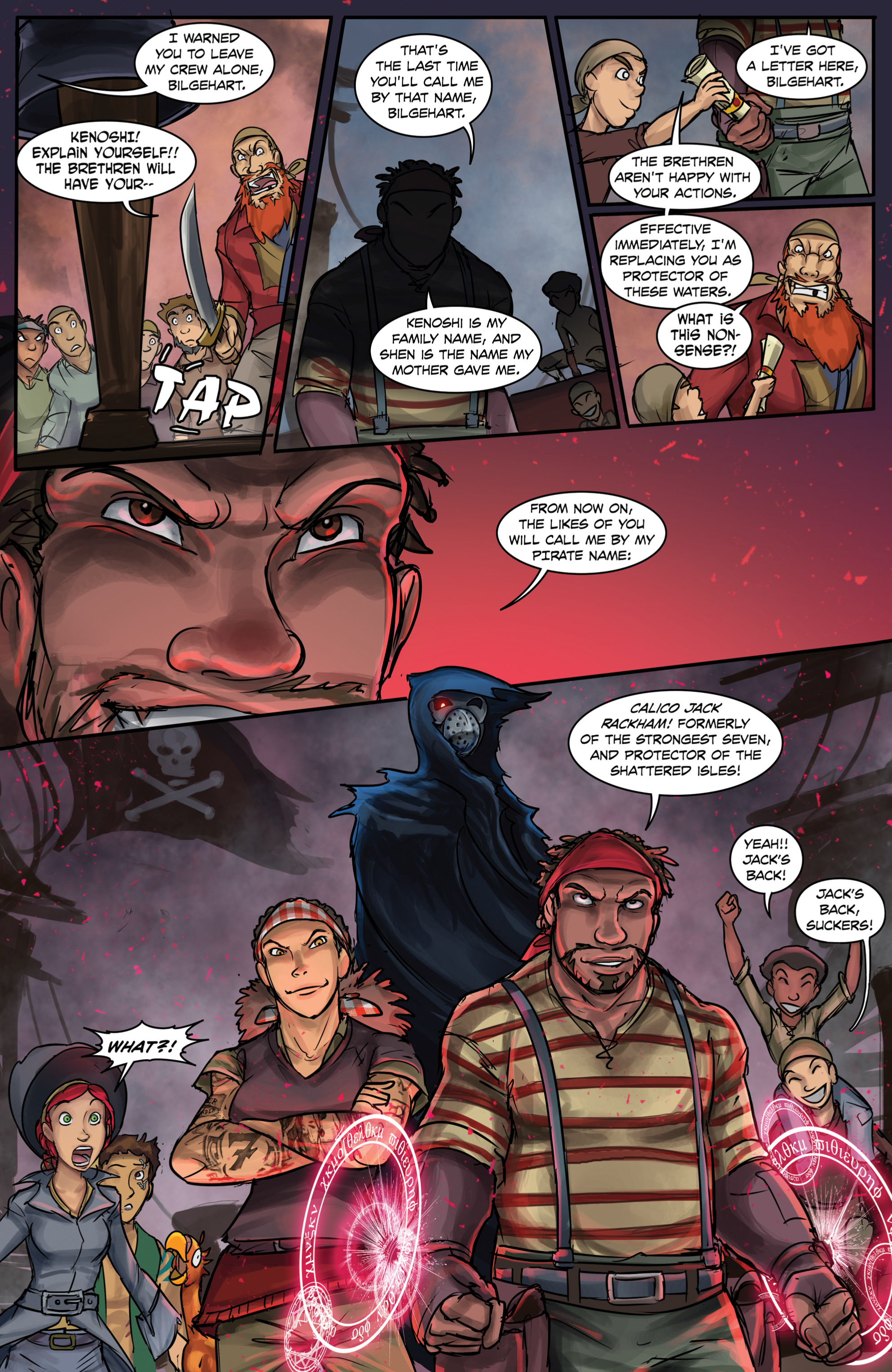 Read online Anne Bonnie comic -  Issue #6 - 22