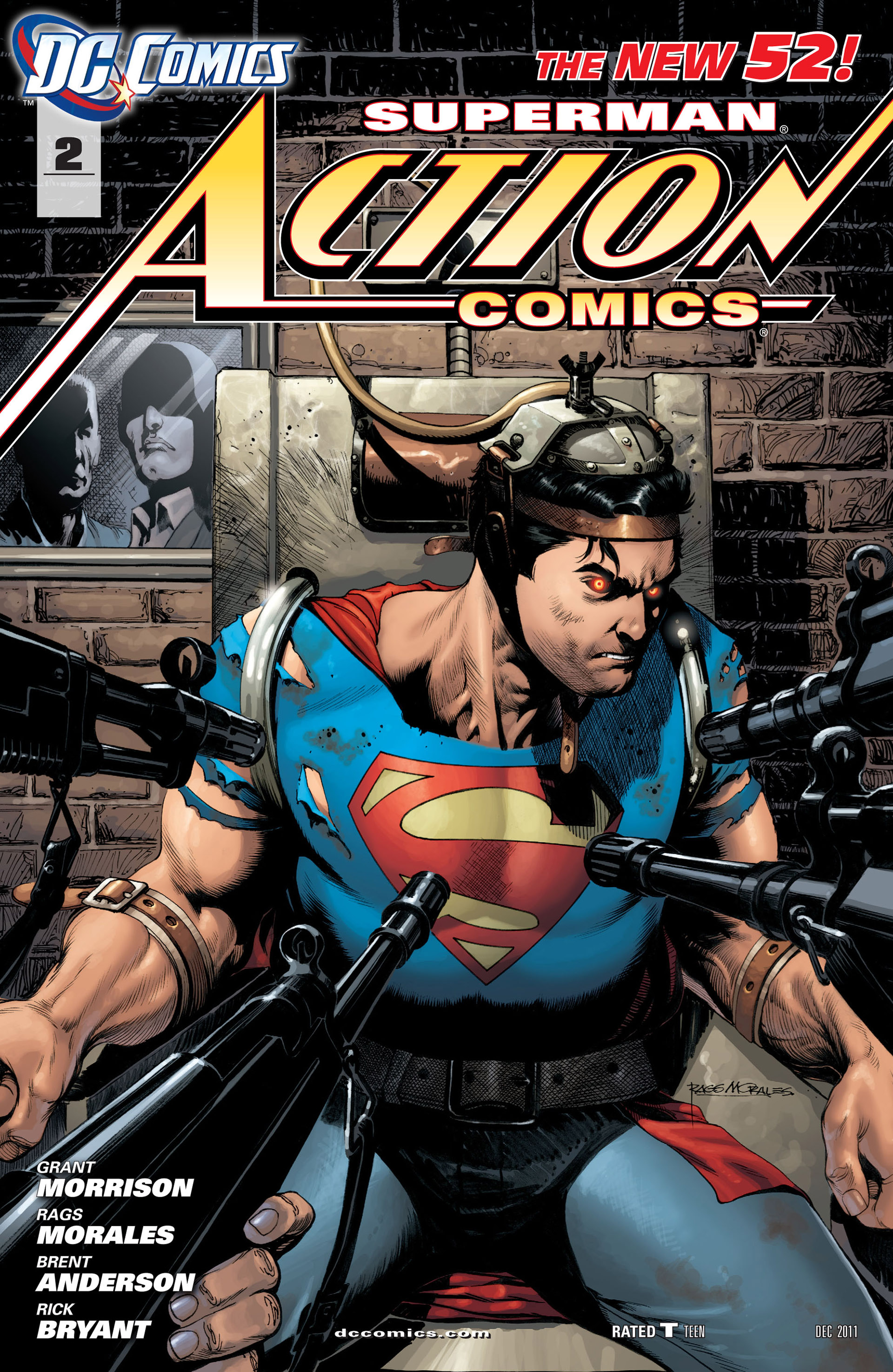 Read online Action Comics (2011) comic -  Issue #2 - 1