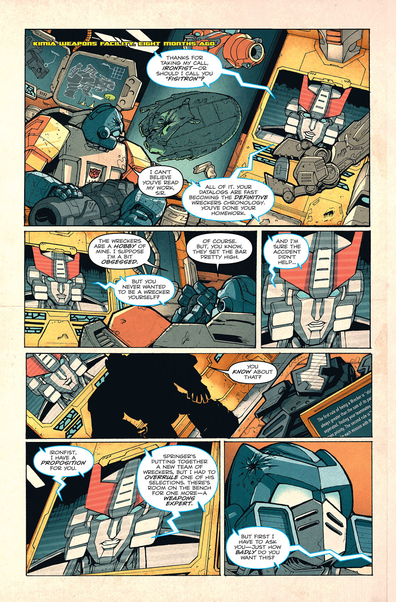 Read online Transformers: Last Stand of The Wreckers comic -  Issue #4 - 4