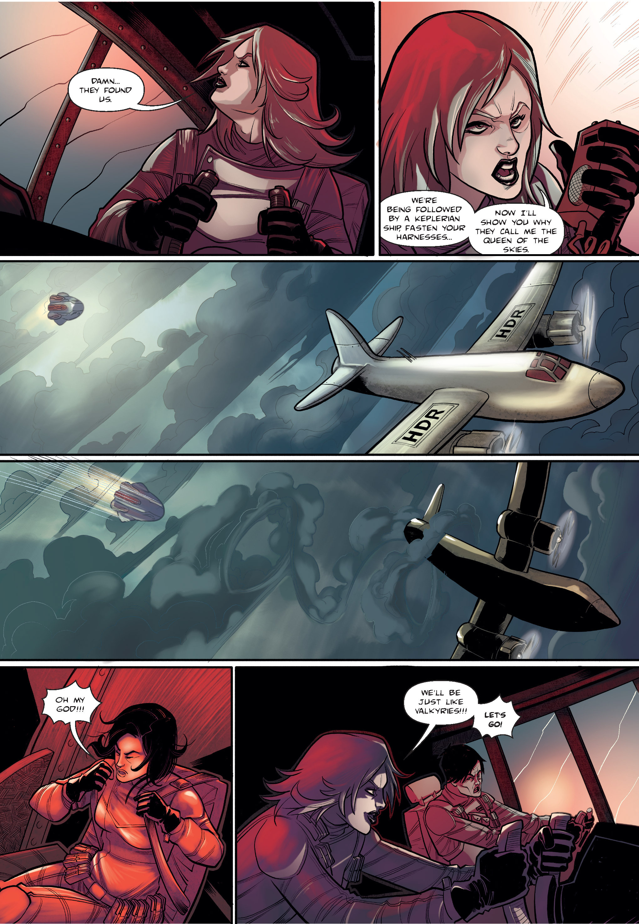 Read online The Shadow of a Terrible Thing comic -  Issue # TPB - 42