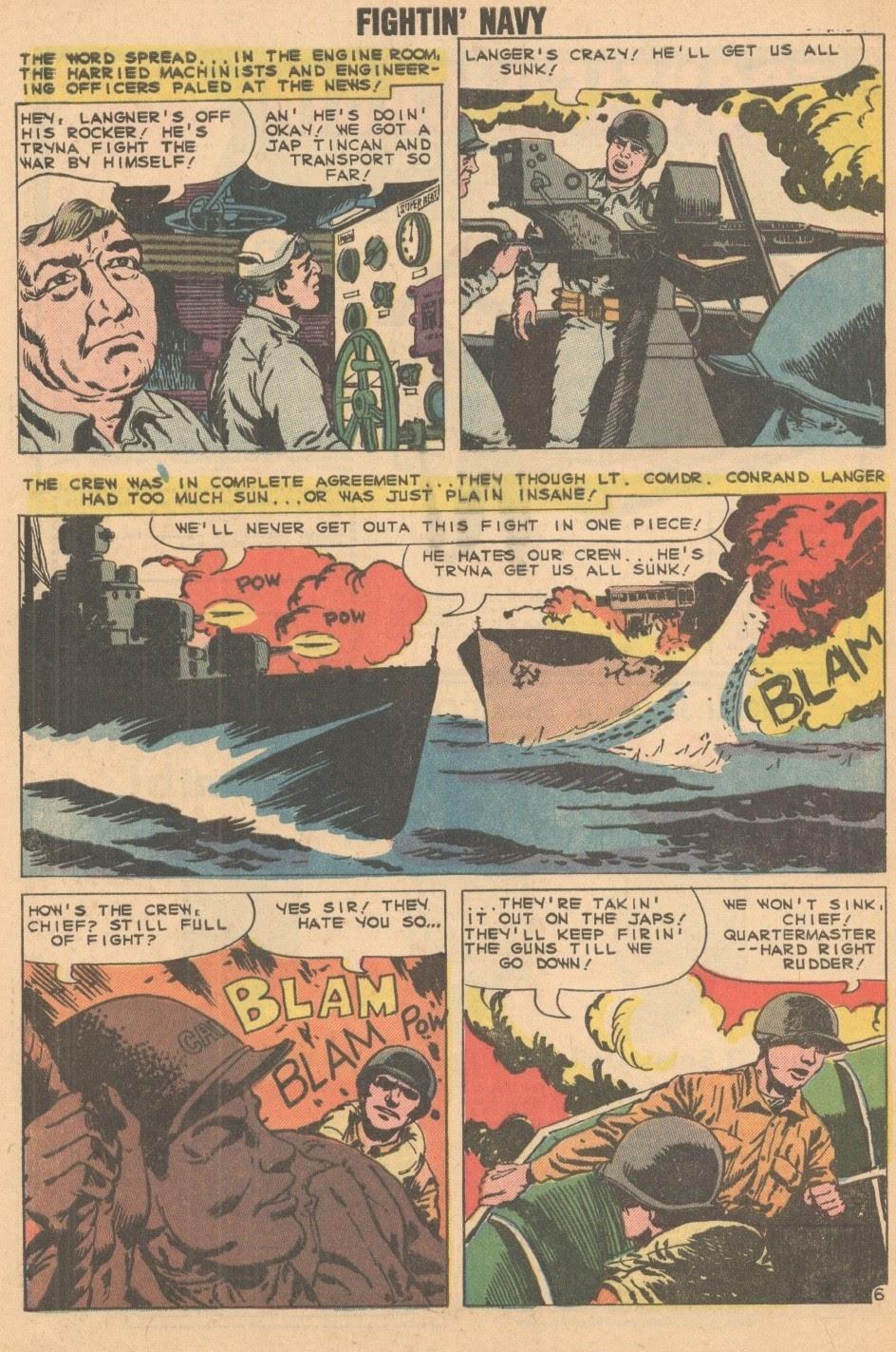 Read online Fightin' Navy comic -  Issue #93 - 32