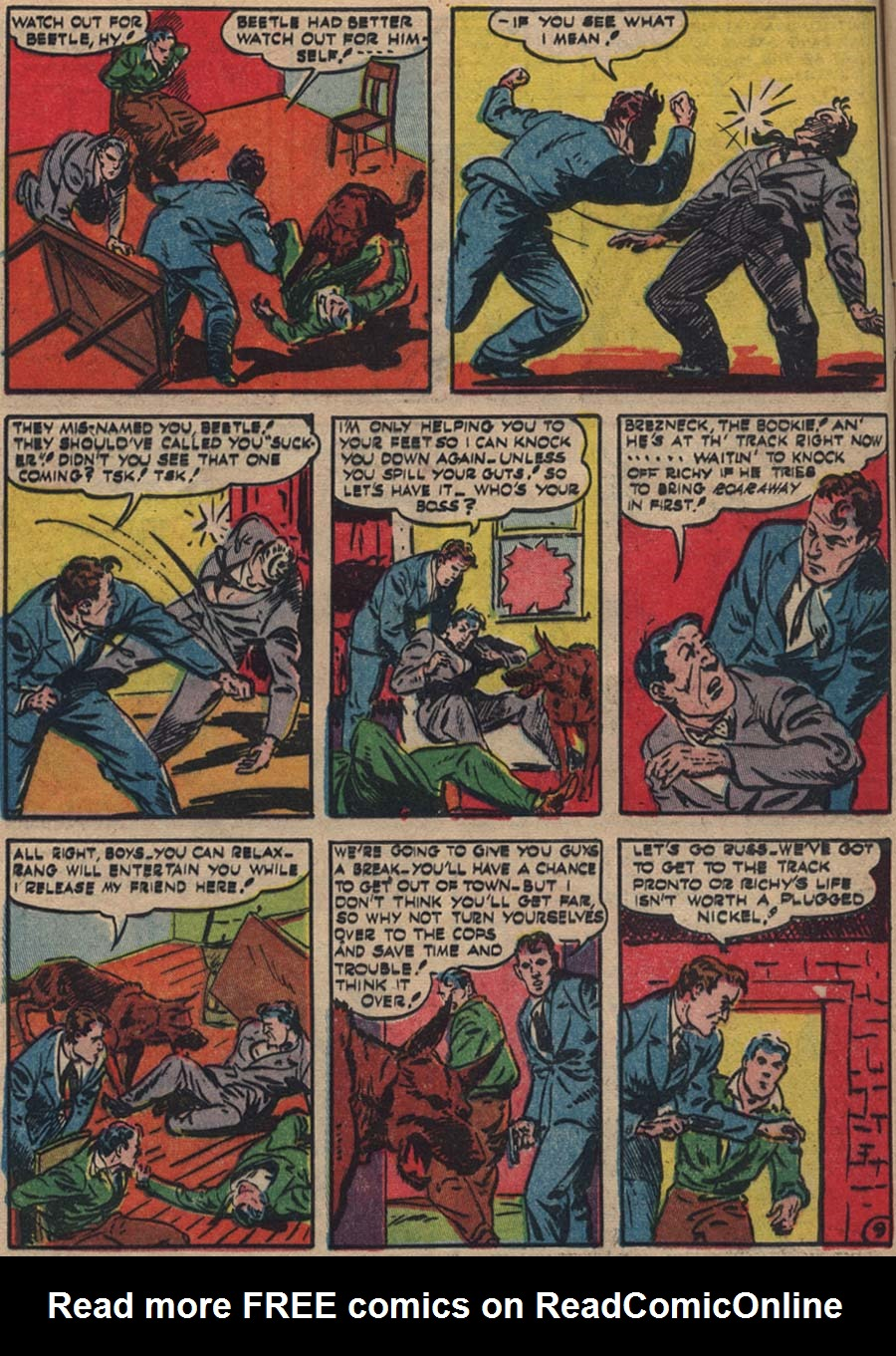 Blue Ribbon Comics (1939) issue 18 - Page 19