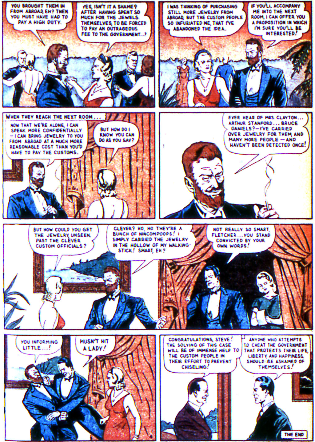 Read online Adventure Comics (1938) comic -  Issue #44 - 25
