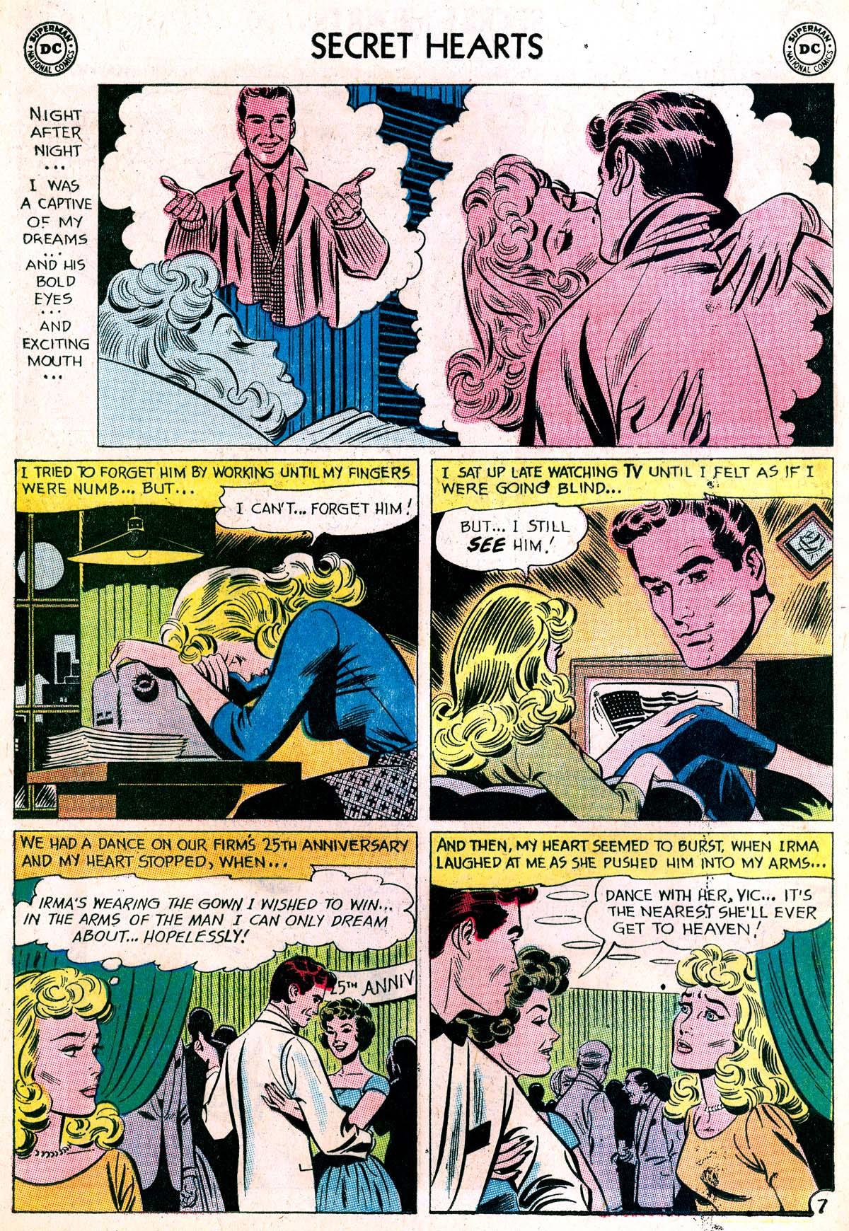 Read online Secret Hearts comic -  Issue #87 - 32