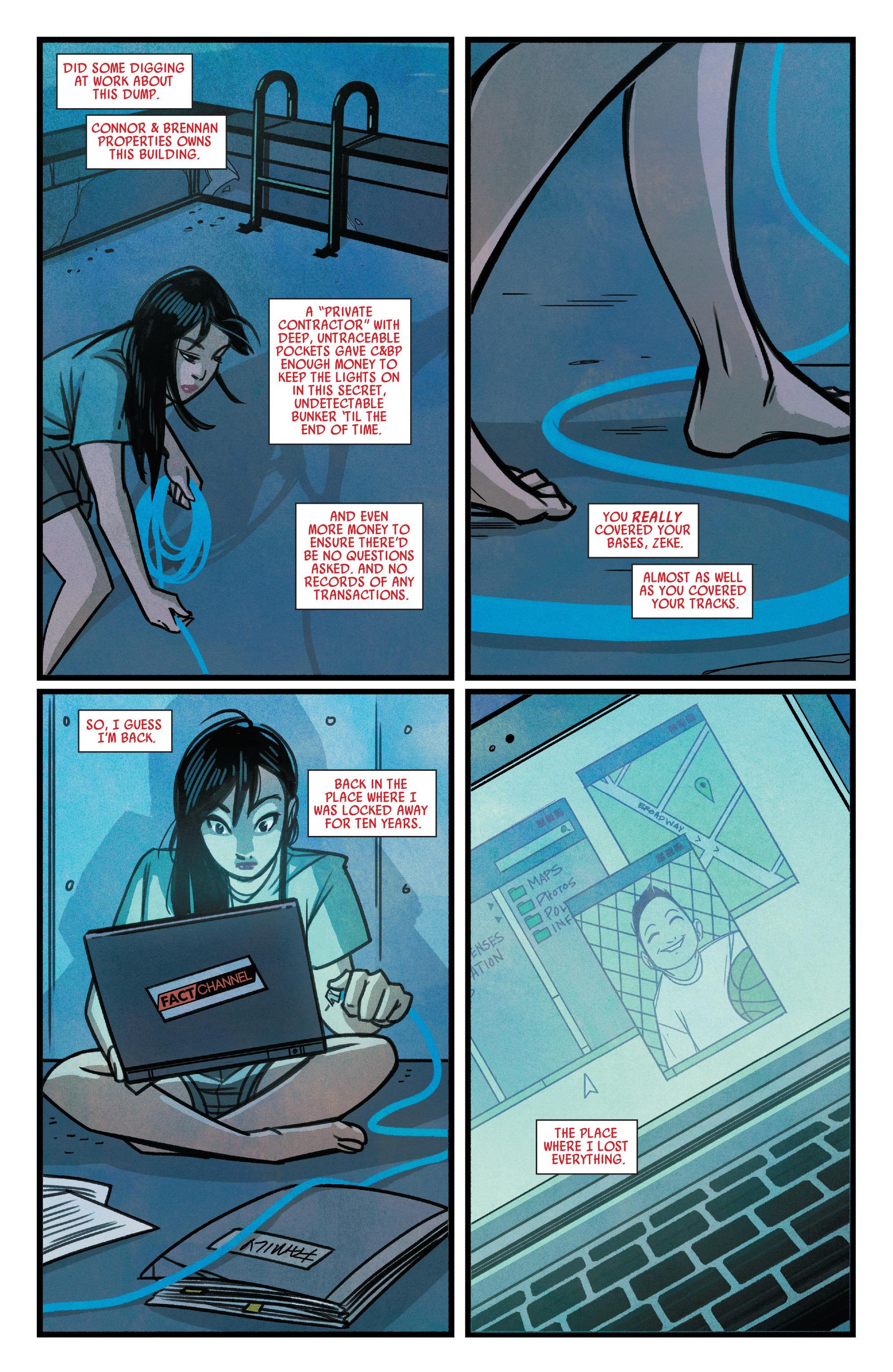 Read online Silk (2015) comic -  Issue #1 - 20