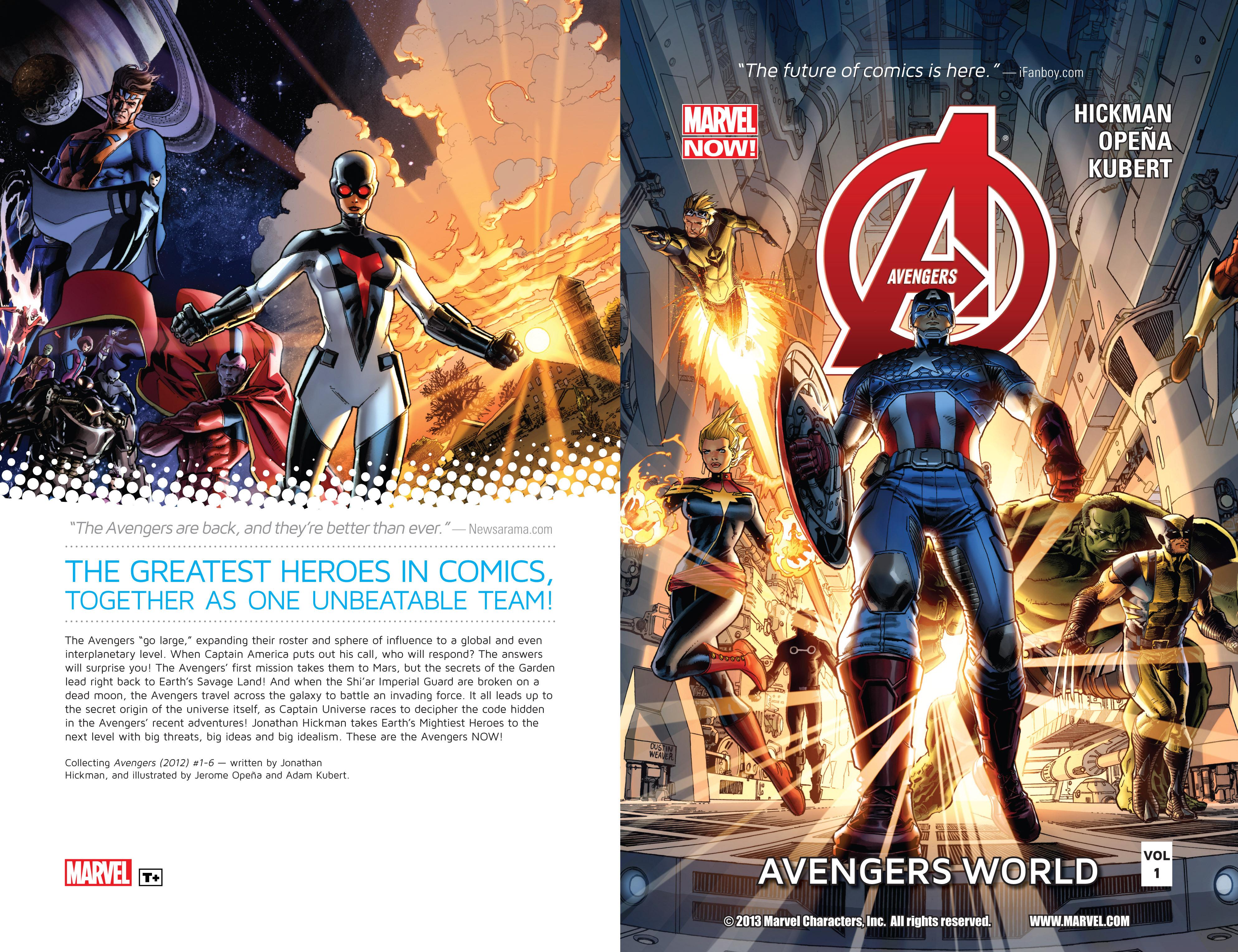 Read online Avengers (2013) comic -  Issue #Avengers (2013) _TPB 1 - 2